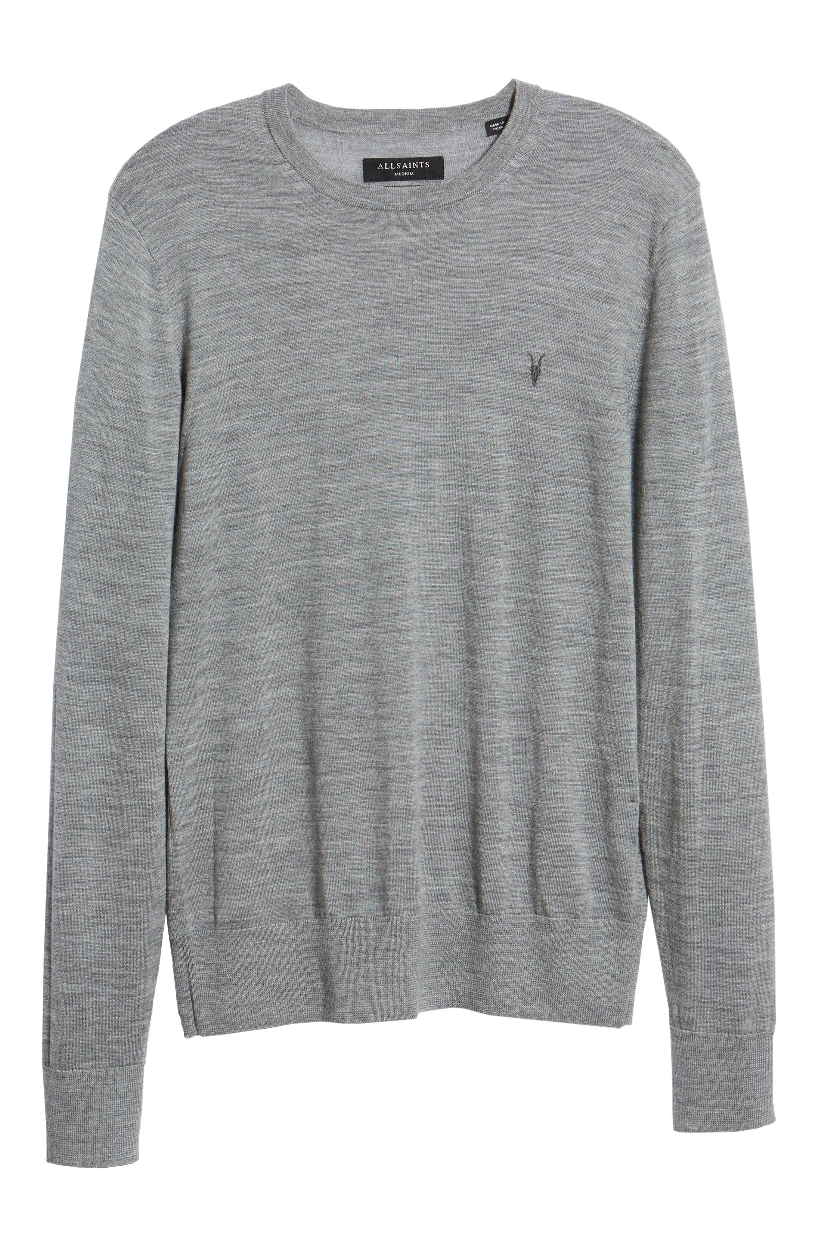 Mode Slim Fit Merino Wool Sweater,                             Alternate thumbnail 32, color,