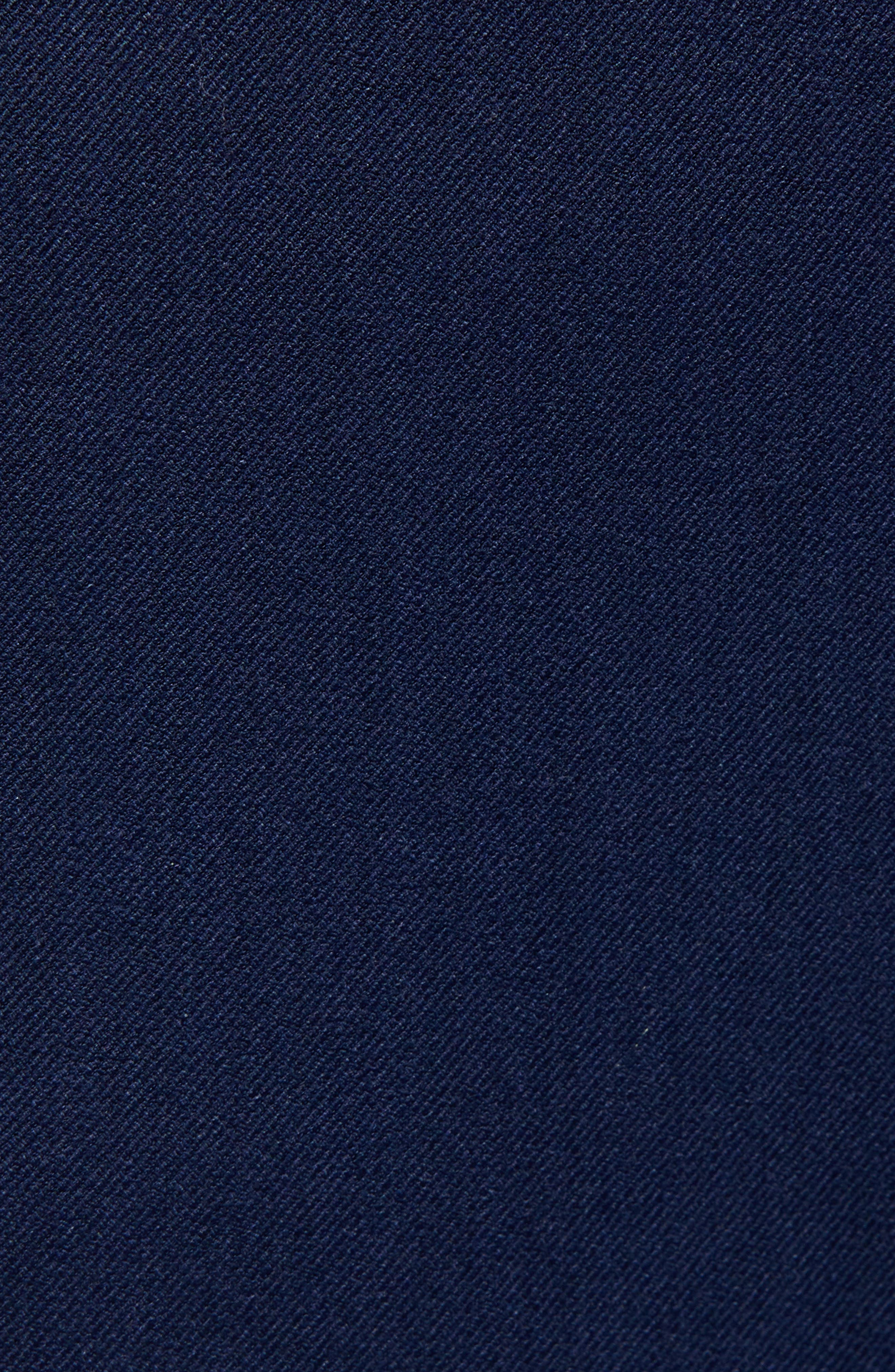 Muscle Fit Trousers,                             Alternate thumbnail 5, color,                             NAVY BLUE