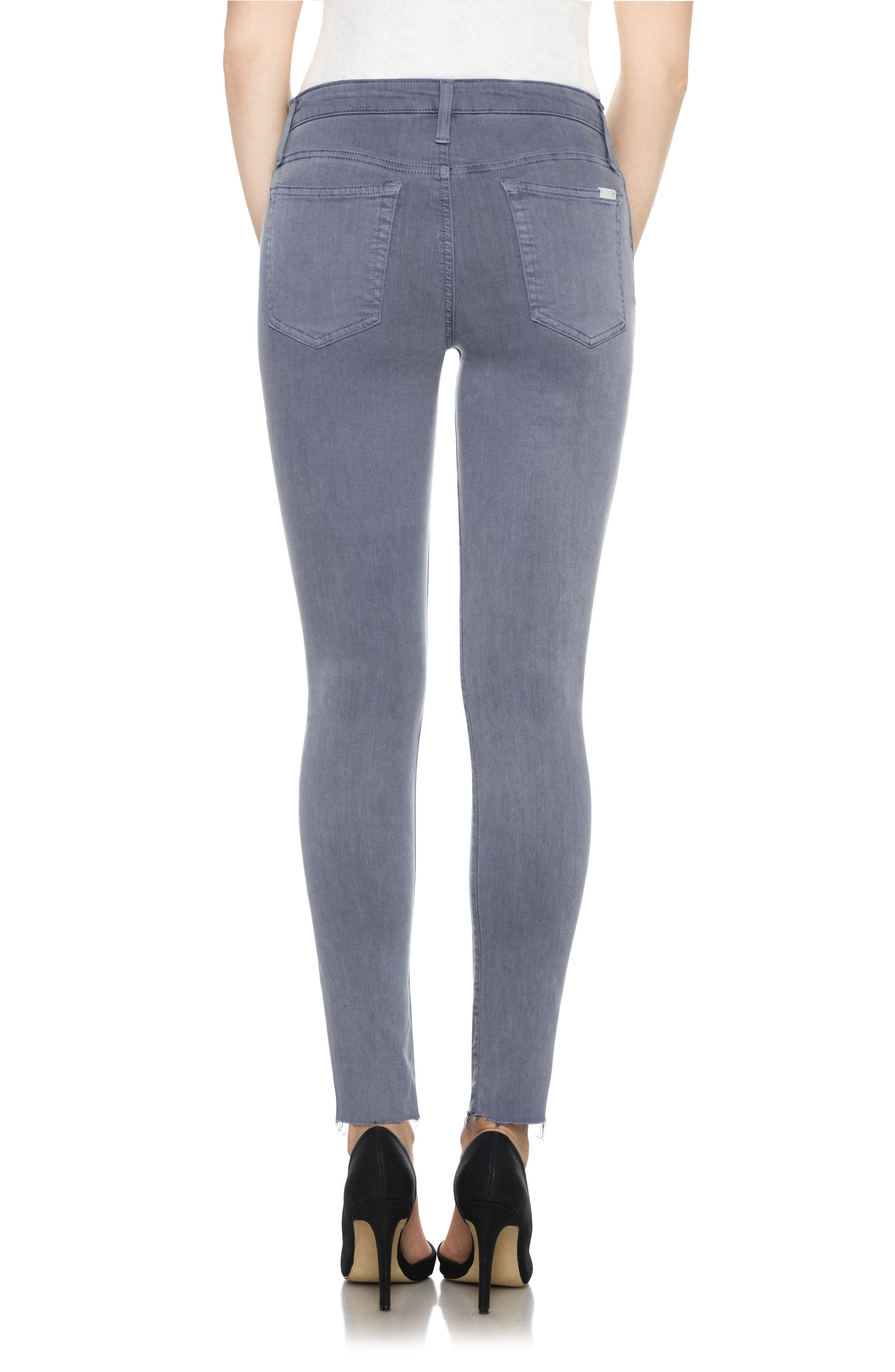 Charlie High Rise Ankle Skinny Jeans,                             Alternate thumbnail 16, color,