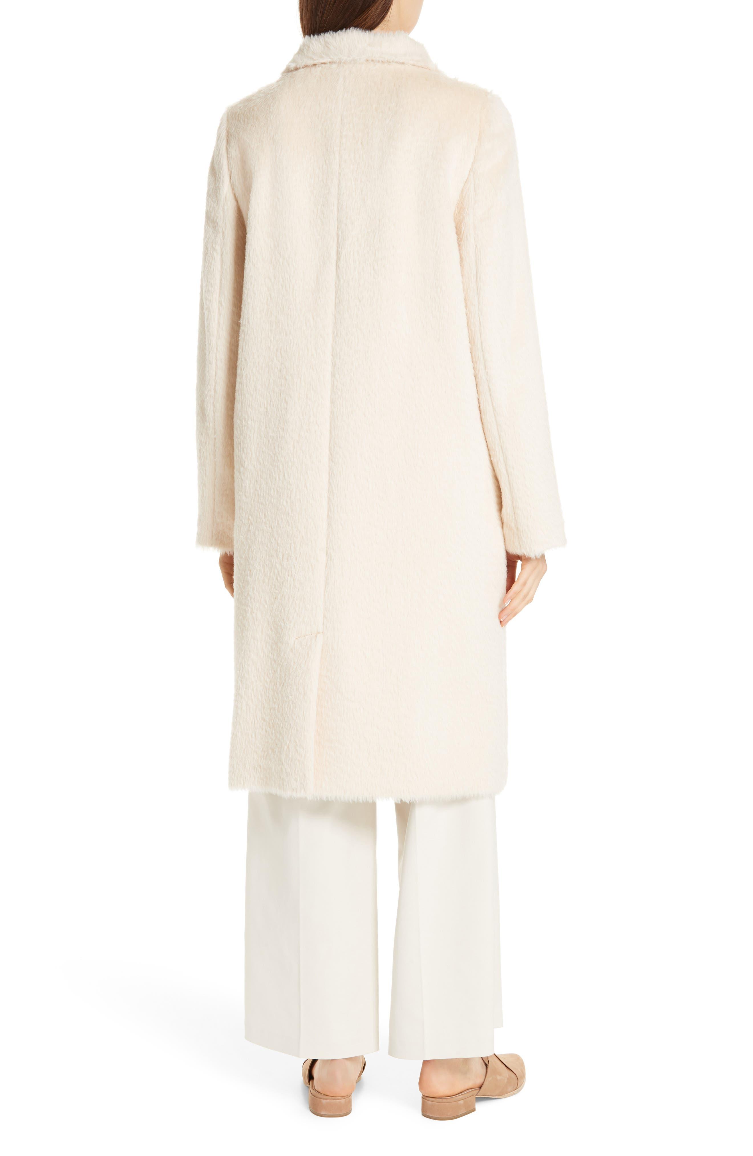 Alpaca Blend Long Coat,                             Alternate thumbnail 2, color,                             278
