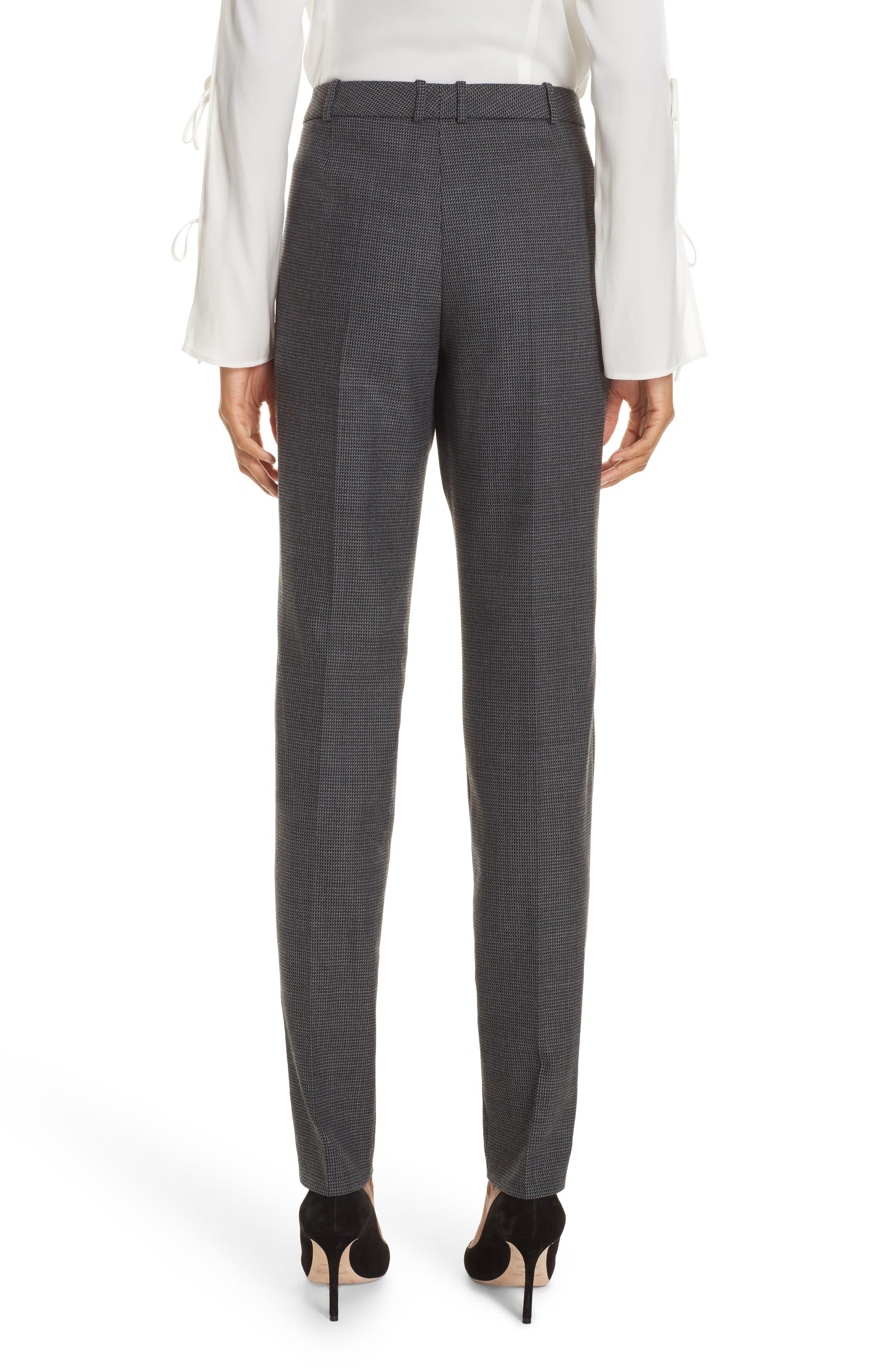 Tilunana Pinstripe Suit Trousers,                             Alternate thumbnail 2, color,                             020