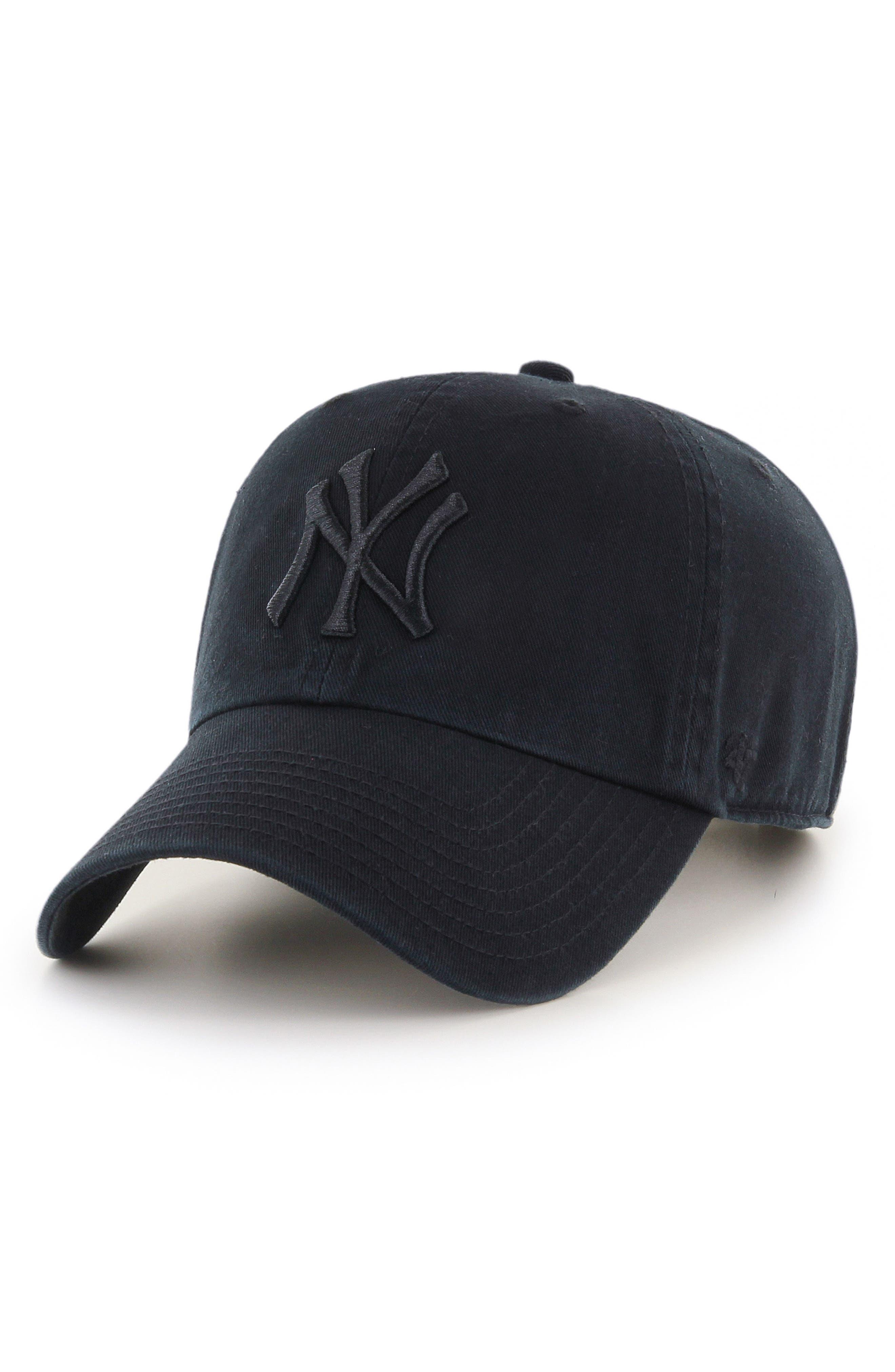 Clean Up NY Yankees Baseball Cap,                             Main thumbnail 1, color,                             001