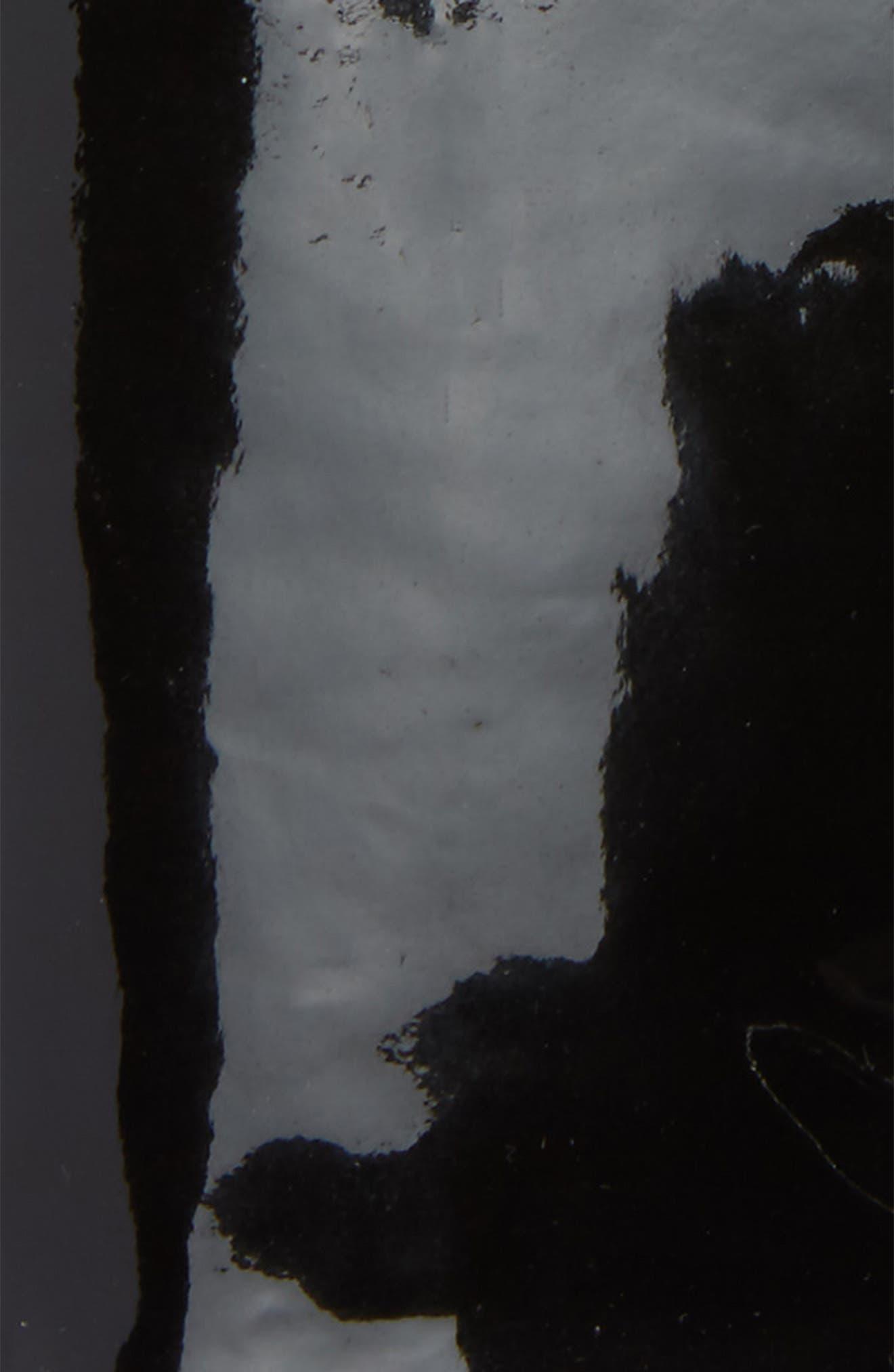 Mixed Media Lambskin Leather Gloves,                             Alternate thumbnail 2, color,                             001