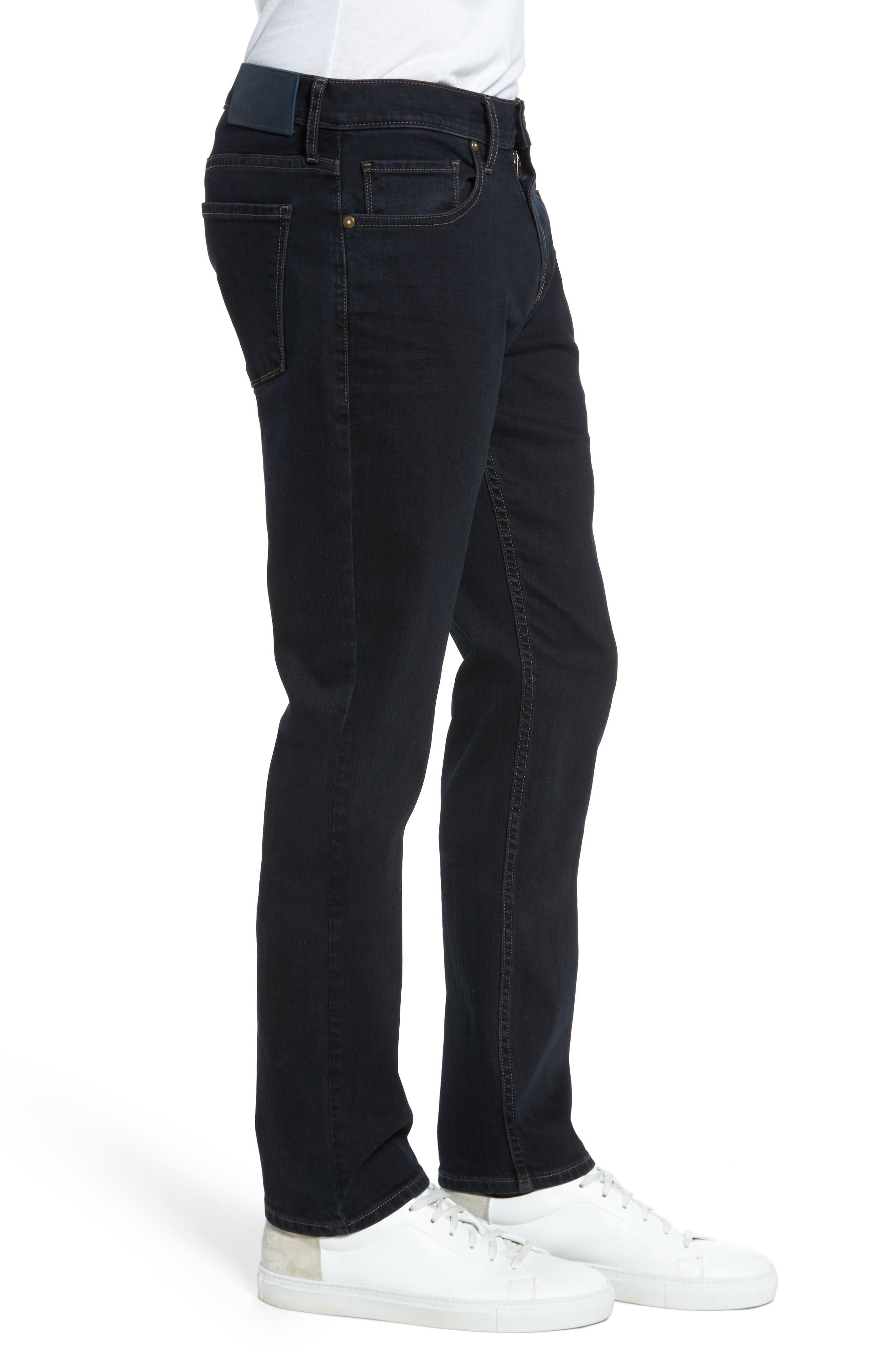 Federal Slim Straight Leg Jeans,                             Alternate thumbnail 3, color,                             400
