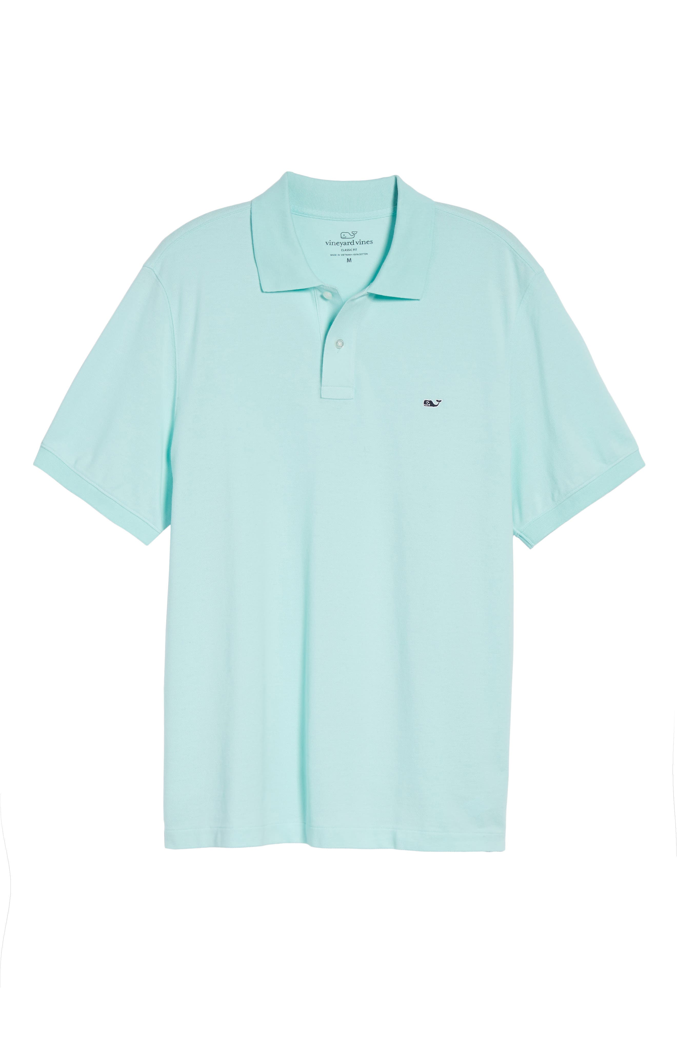 Classic Piqué Knit Polo,                             Alternate thumbnail 7, color,                             446