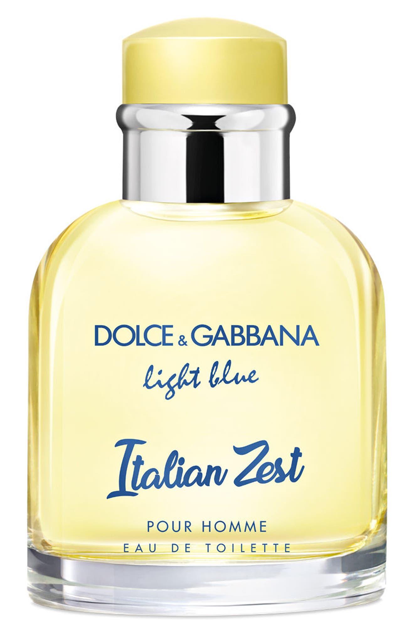 Dolce&Gabbana Light Blue Italian Zest pour Homme Eau de Toilette,                             Alternate thumbnail 2, color,                             000