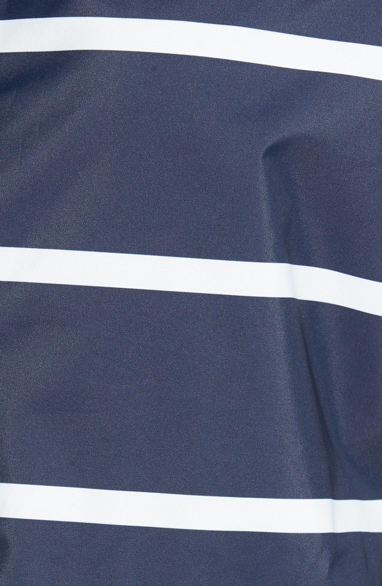 Holliwell Stripe Hooded Jacket,                             Alternate thumbnail 7, color,                             410