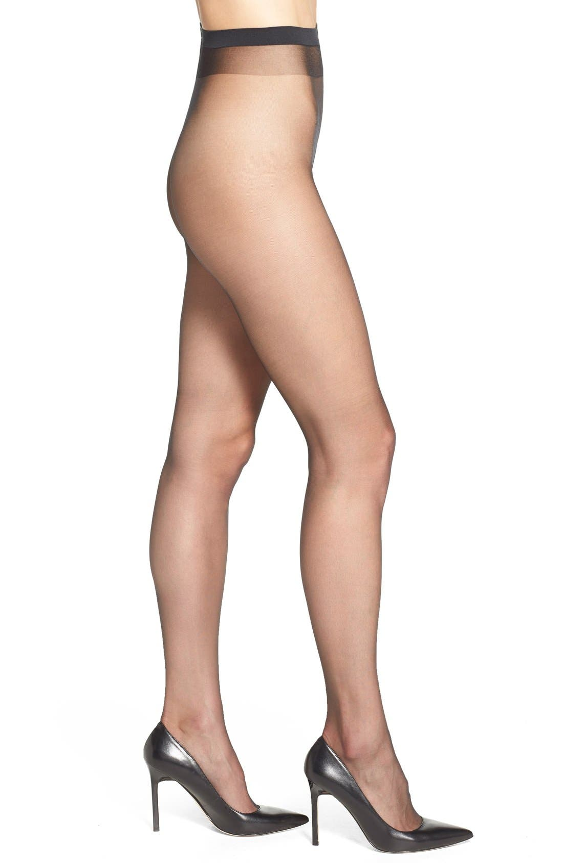 Naked 8 Ultra Sheer Tights in Black