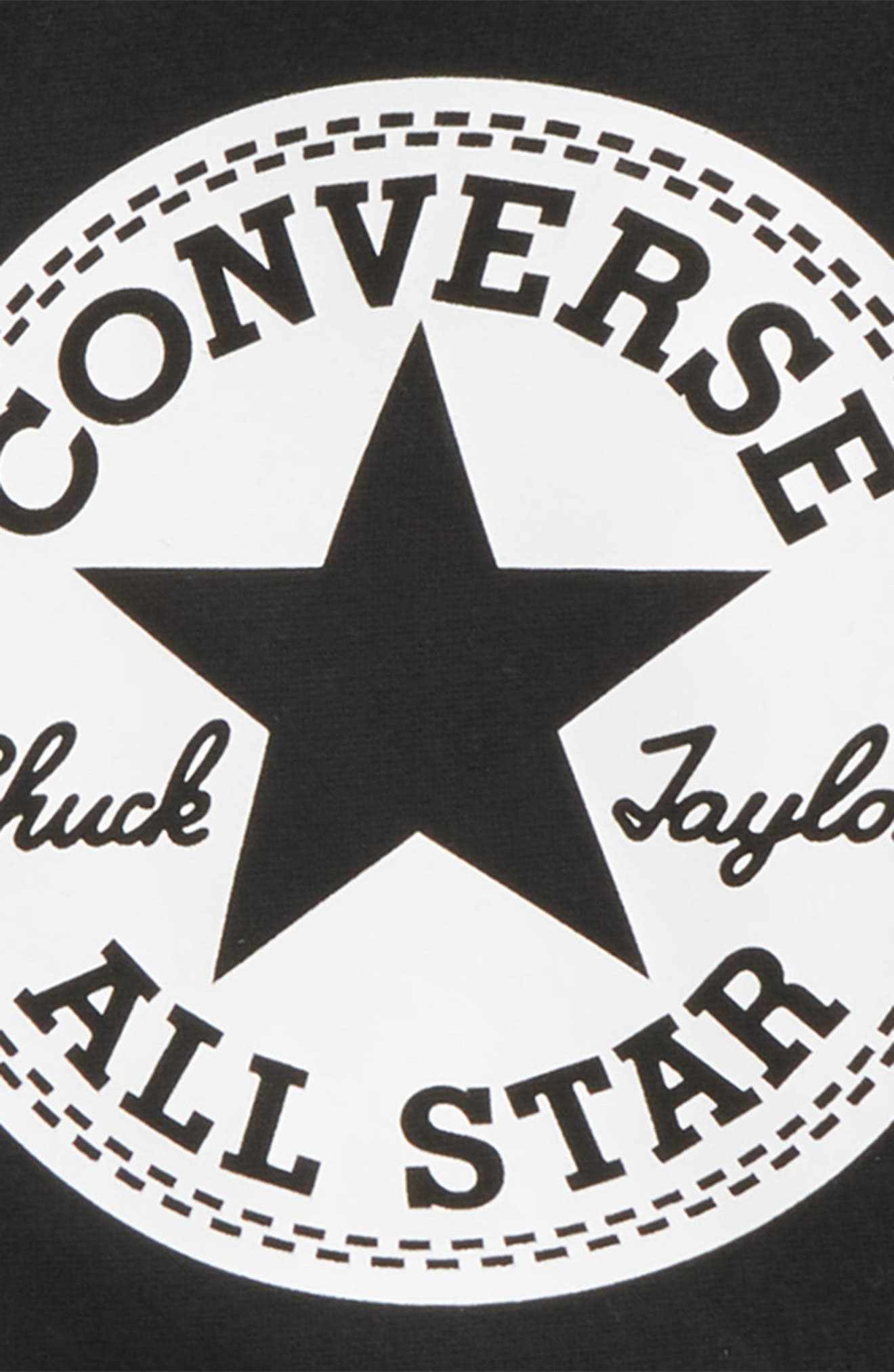Chuck Taylor<sup>®</sup> Hoodie,                             Alternate thumbnail 2, color,                             001