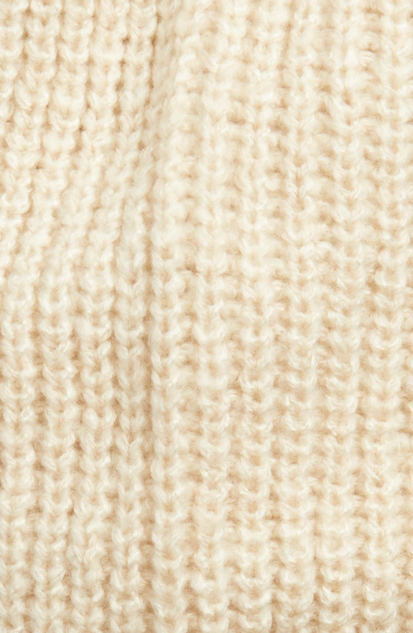 Ribbed Beanie,                             Alternate thumbnail 9, color,