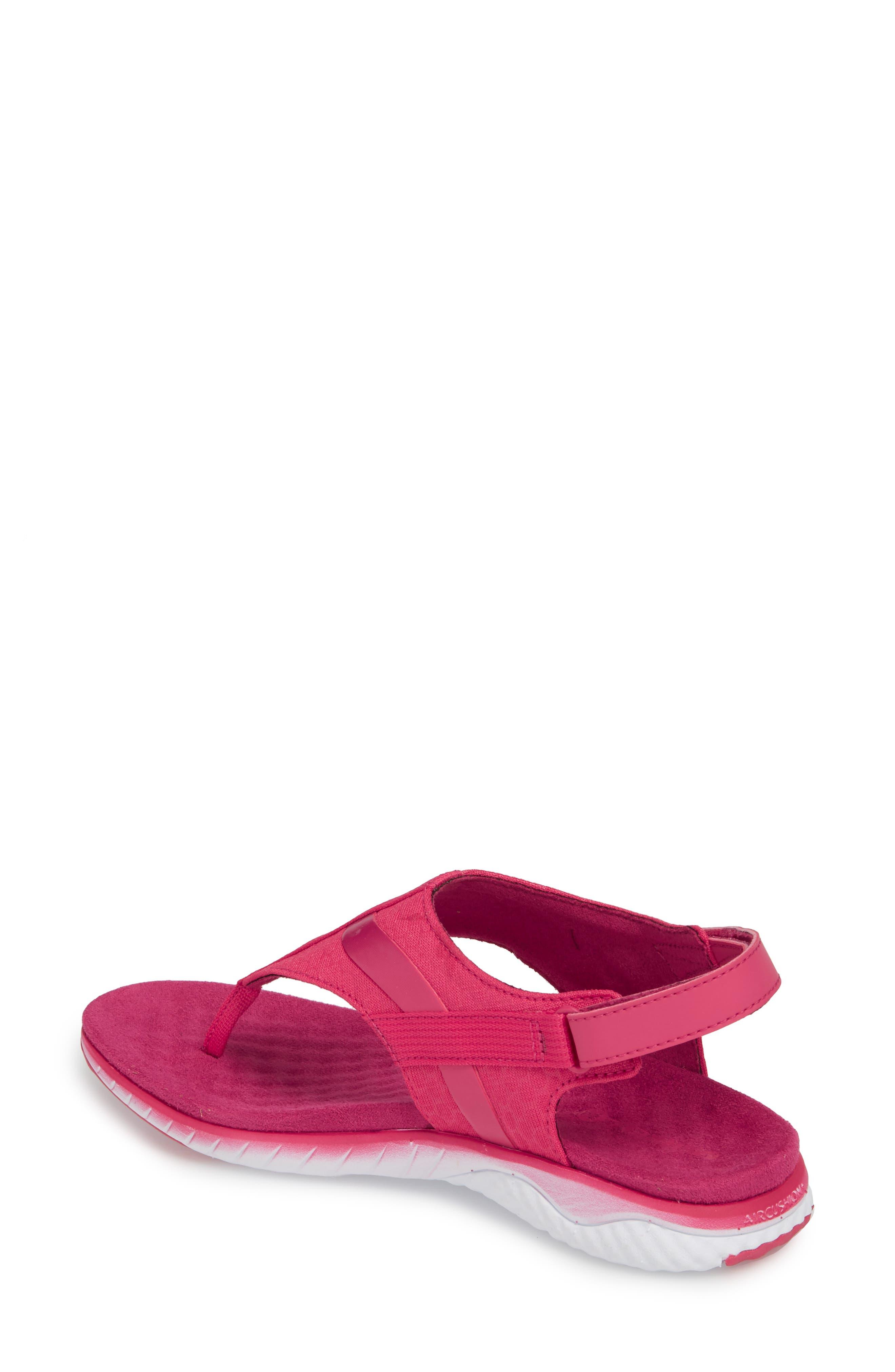 1SIX8 Linna Slide Air Cushion+ Sandal,                             Alternate thumbnail 8, color,