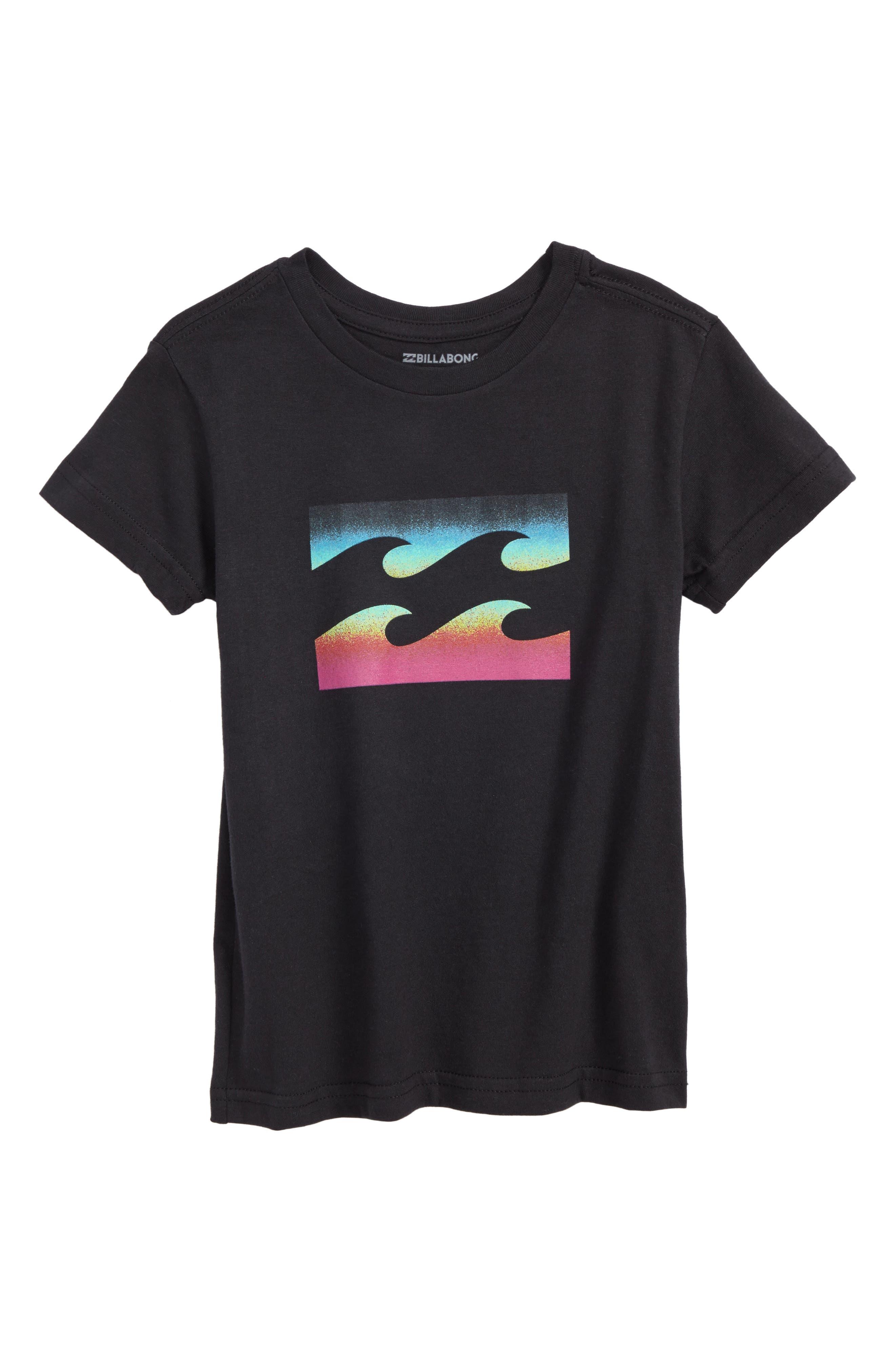 Team Wave Graphic T-Shirt,                             Main thumbnail 1, color,                             001