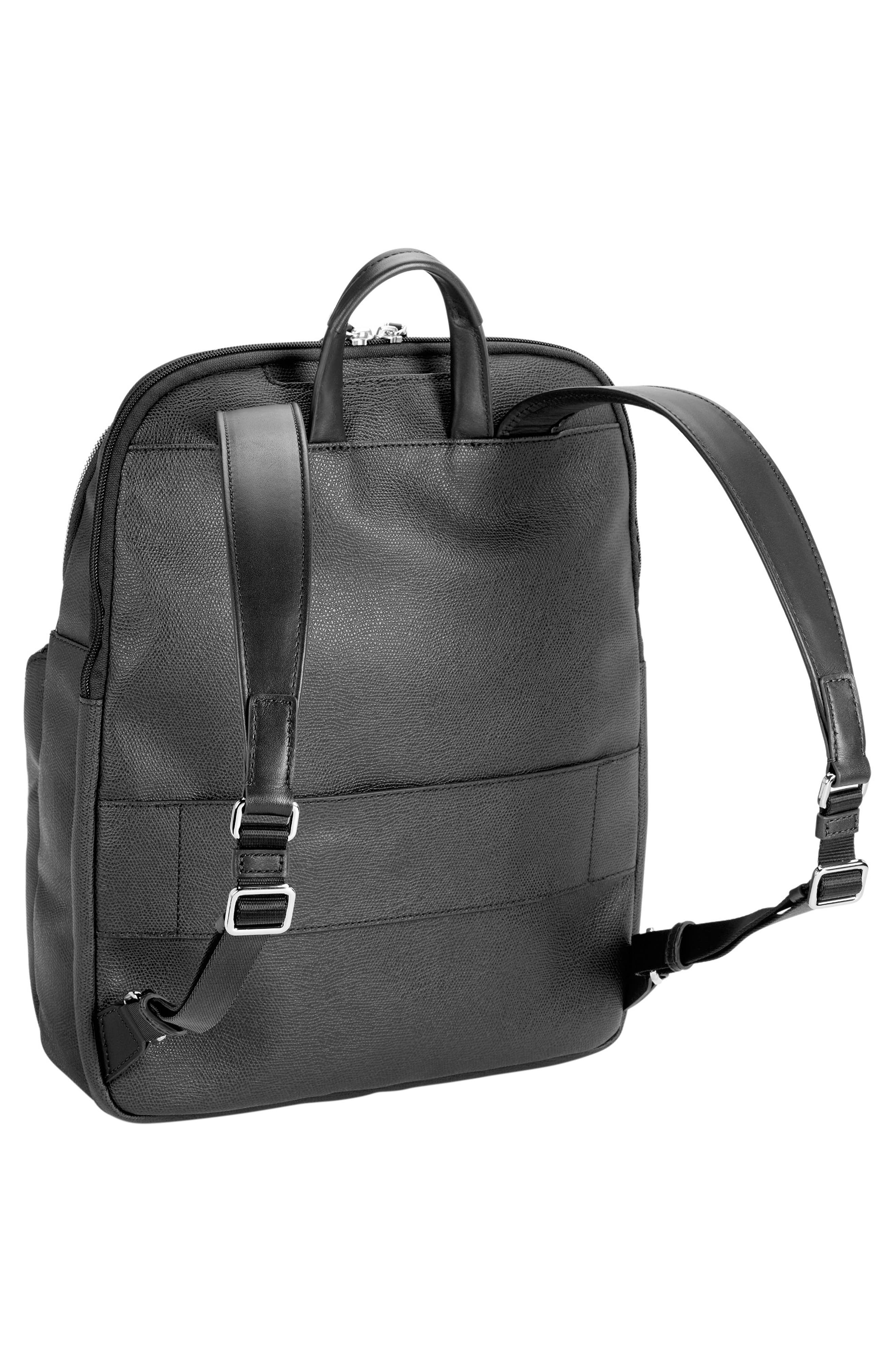 Sinclair - Hanne Coated Canvas Laptop Backpack,                             Alternate thumbnail 13, color,