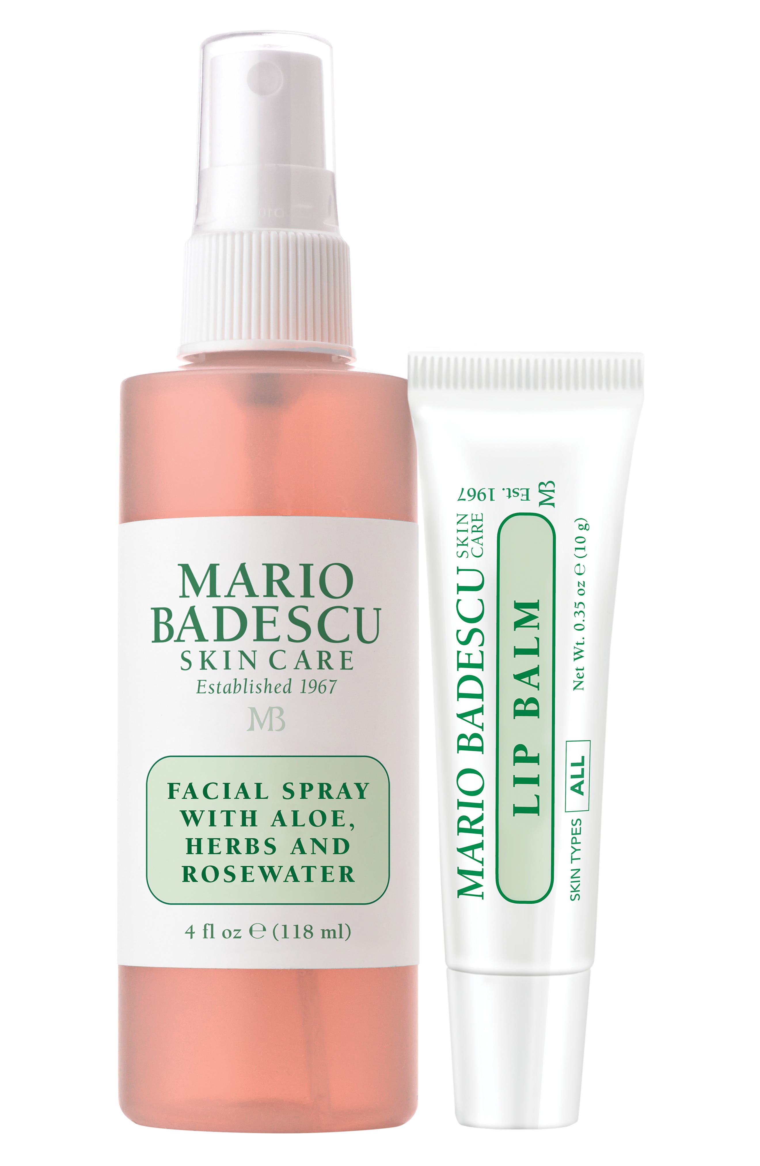 Facial Spray & Lip Balm Ornament Duo,                             Alternate thumbnail 2, color,                             000