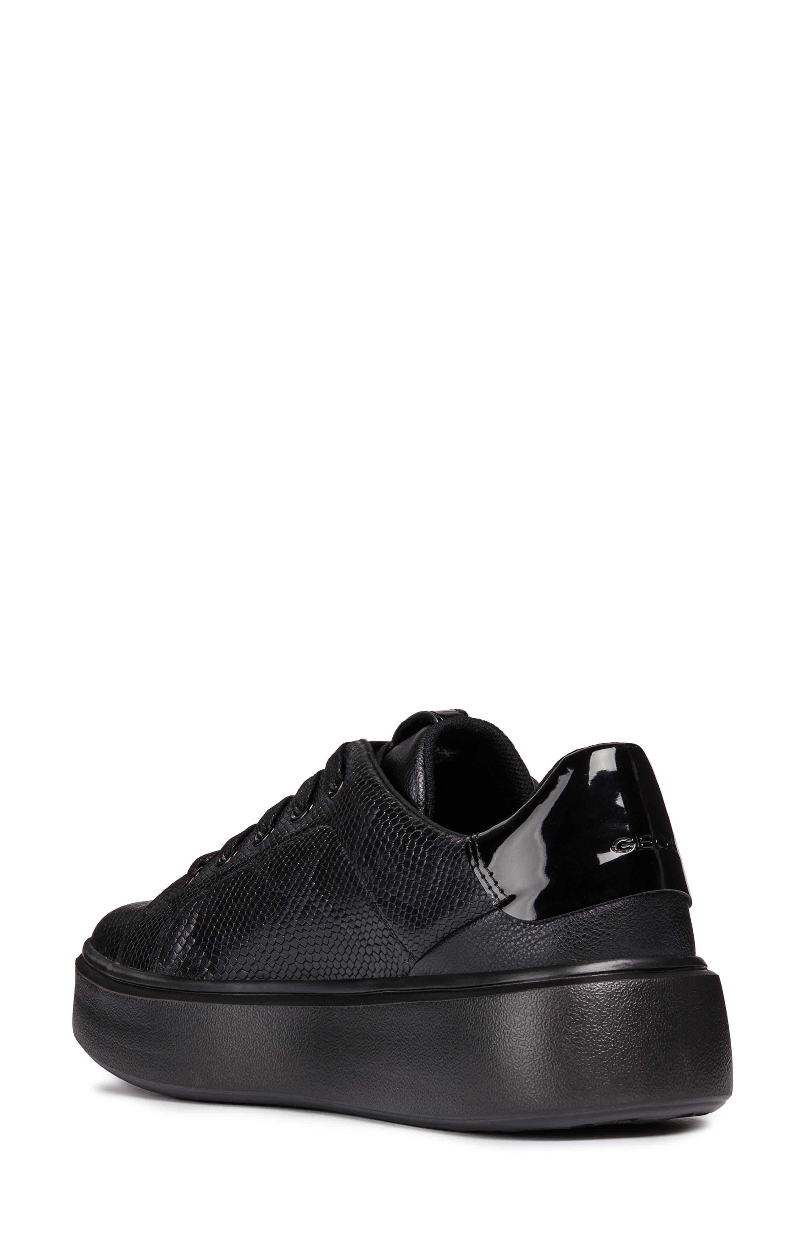 Nhenbus Sneaker,                             Alternate thumbnail 2, color,                             BLACK LEATHER