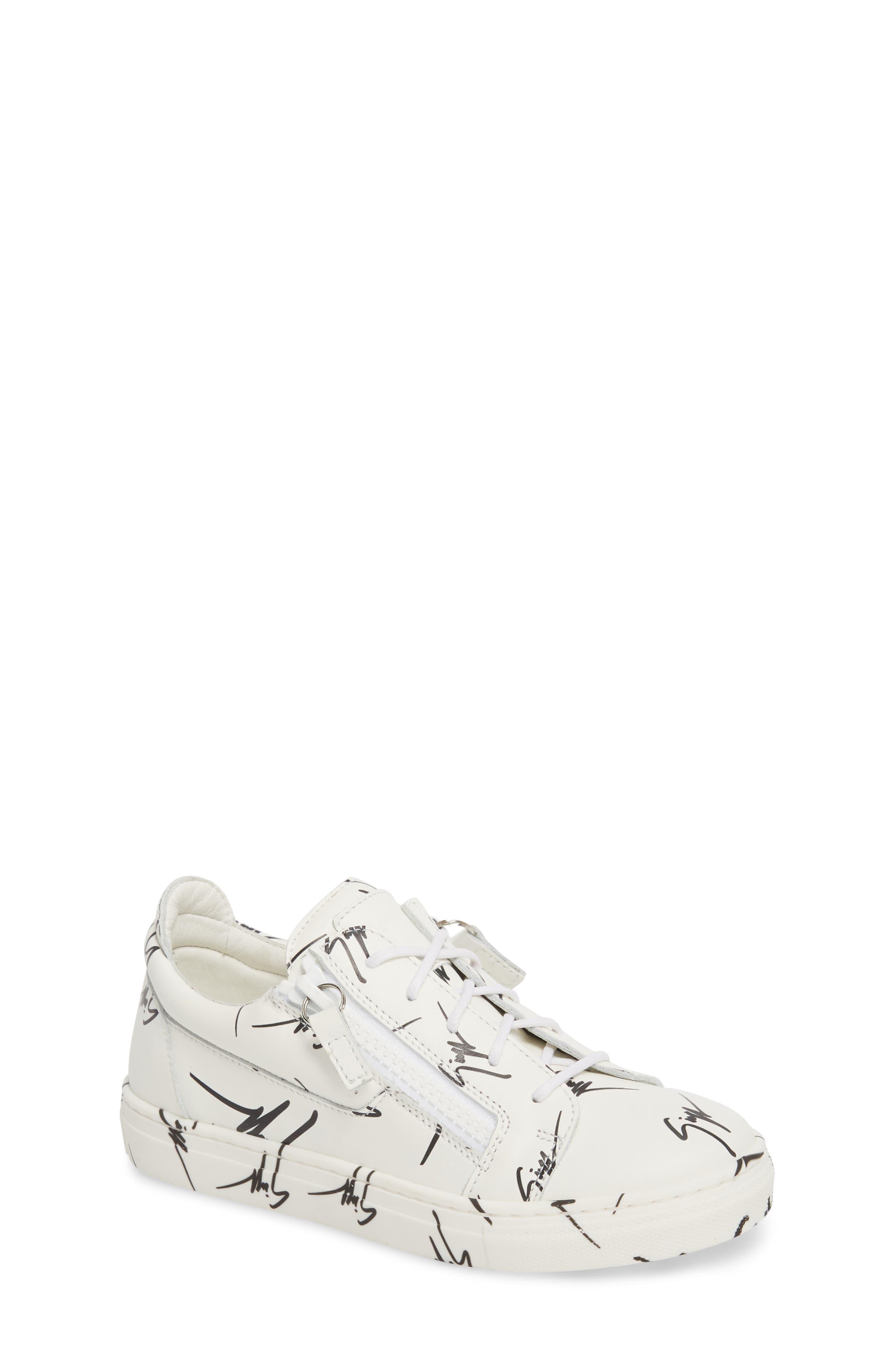 The Signature Jr. Sneaker,                         Main,                         color, 100