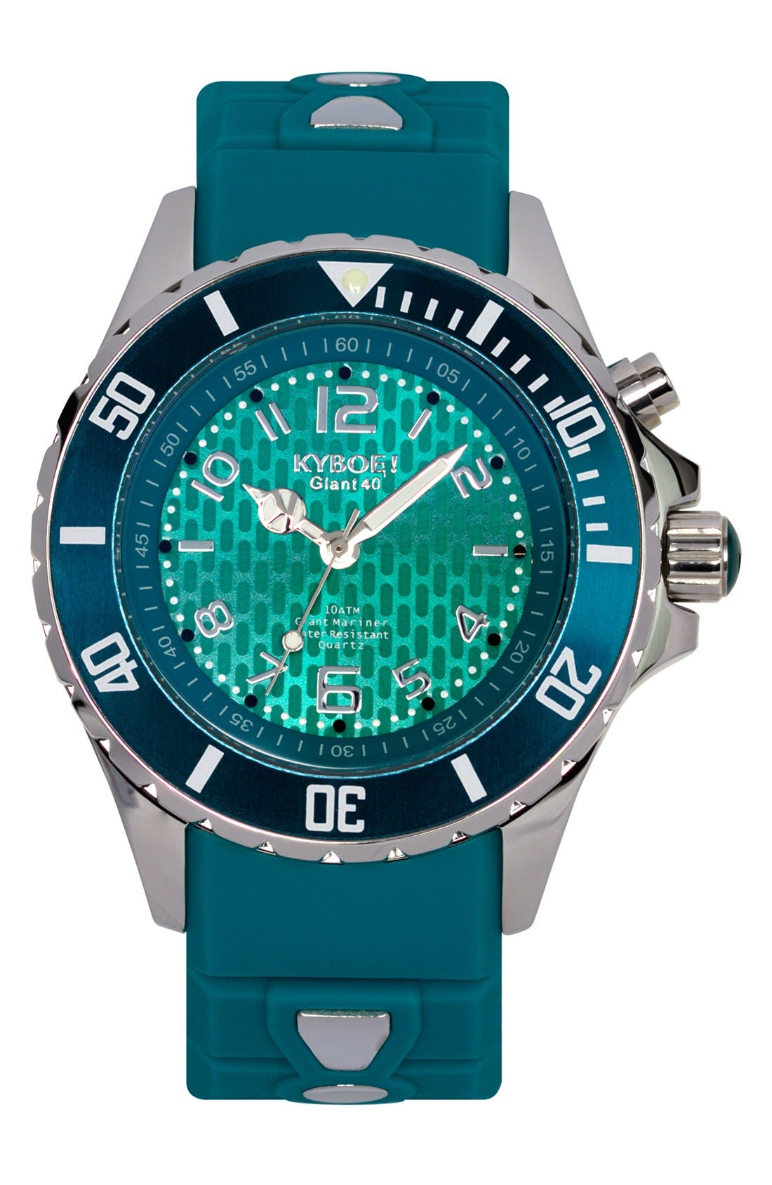 Silicone Strap Watch, 40mm,                         Main,                         color, 400