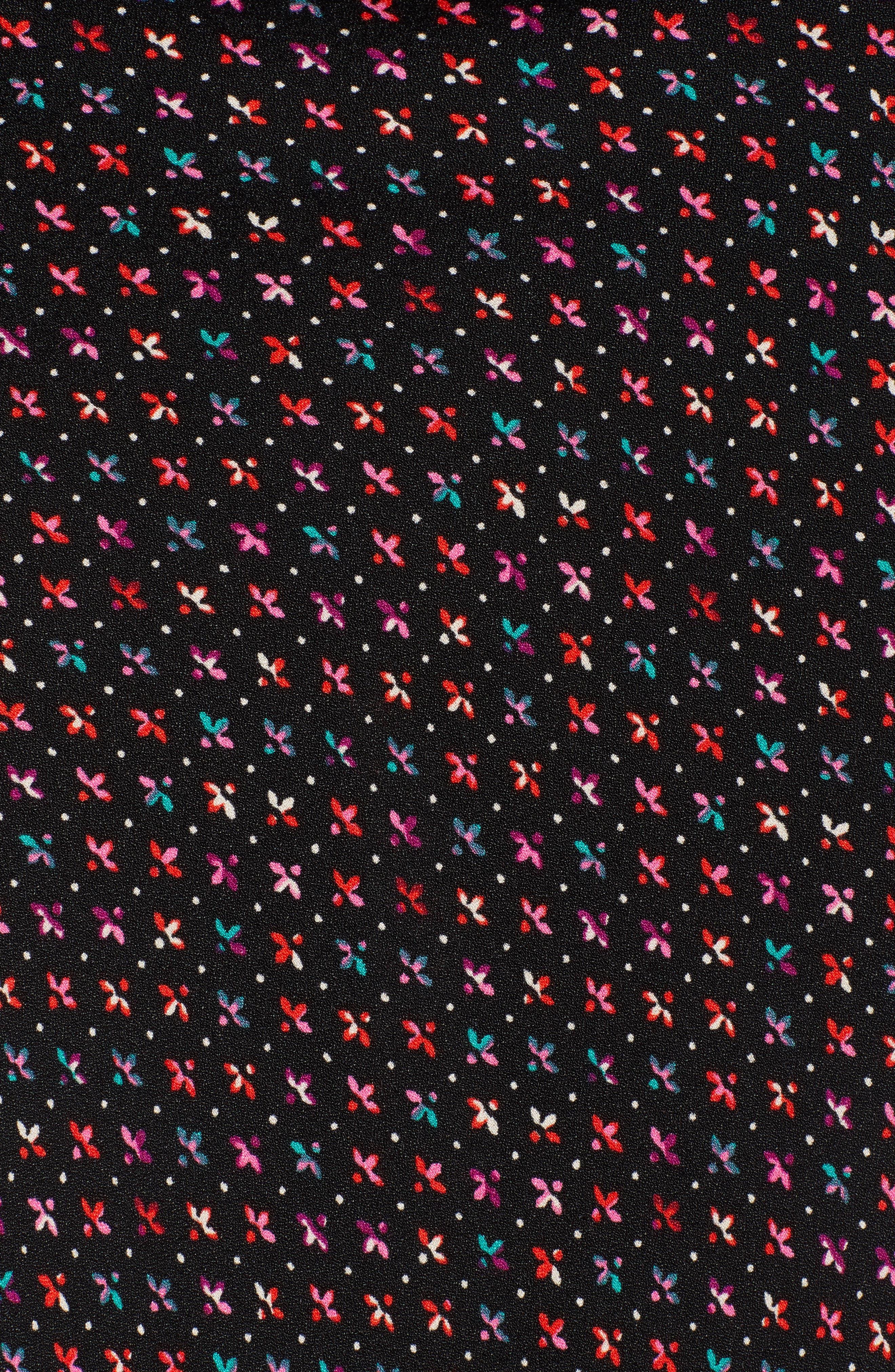 Brynne Print Midi Skirt,                             Alternate thumbnail 5, color,                             MULTI GEO