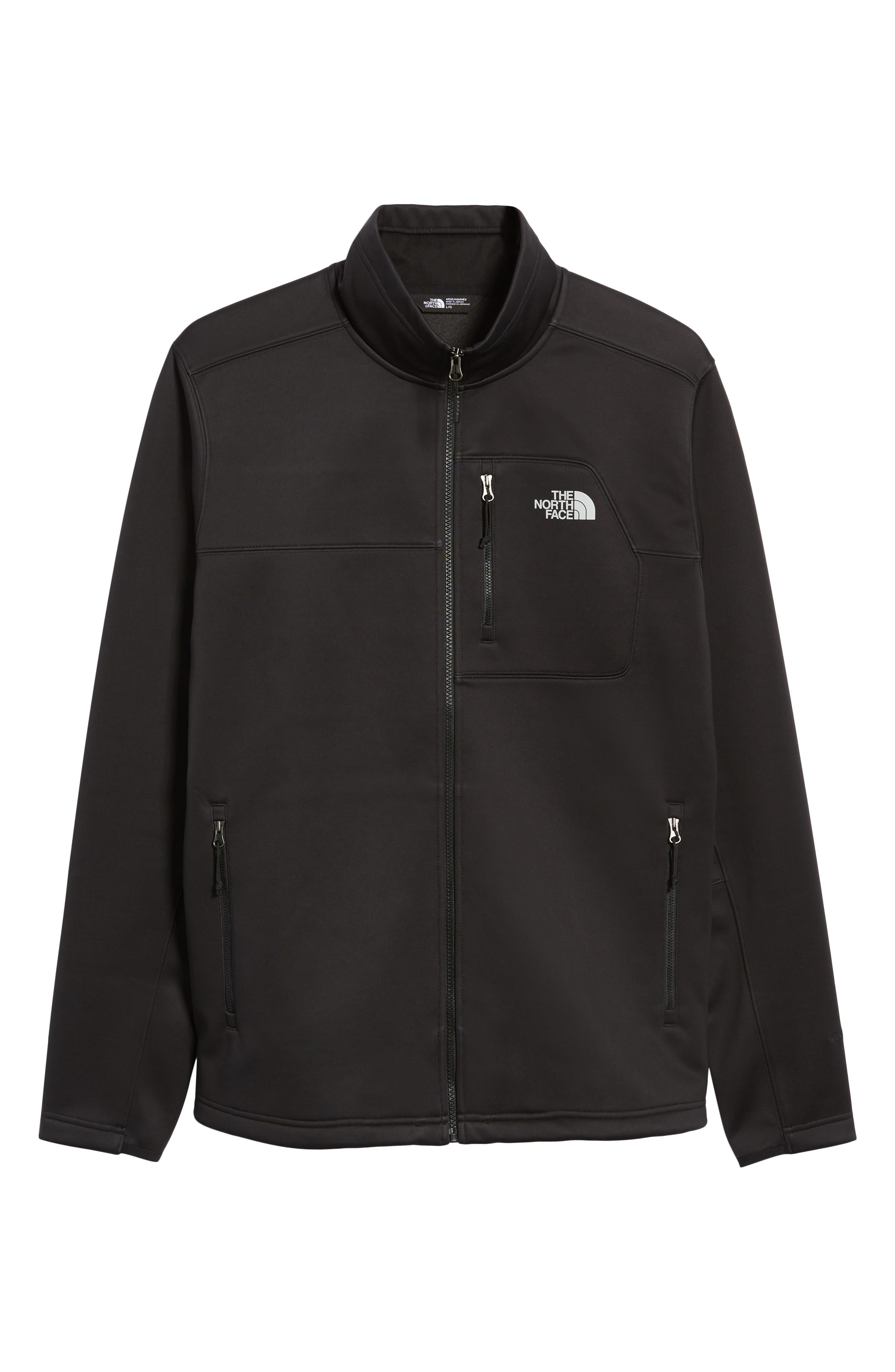 Apex Risor Jacket,                             Alternate thumbnail 7, color,                             TNF BLACK/ TNF BLACK