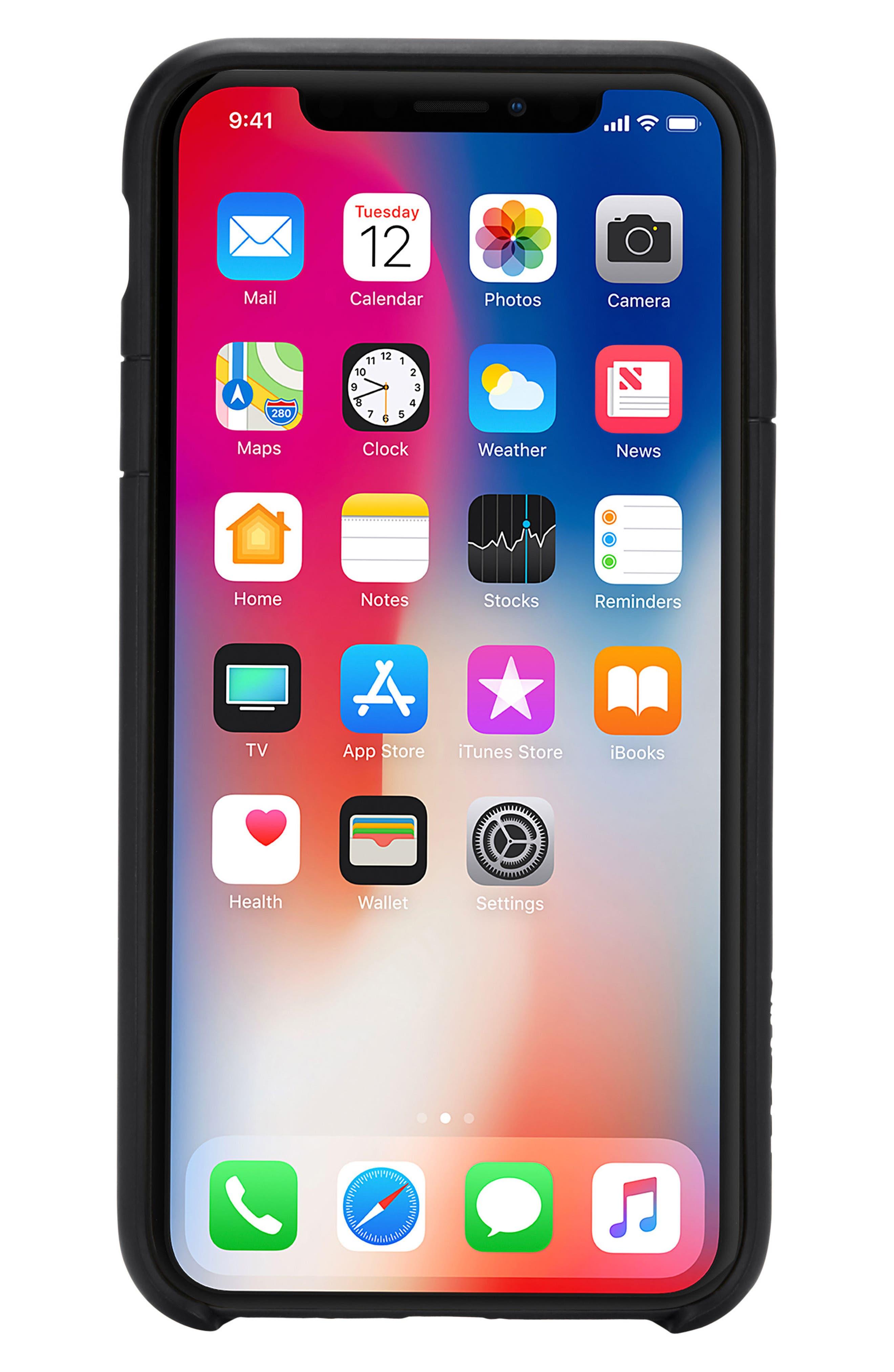 Lite iPhone iPhone X & Xs Case,                             Main thumbnail 1, color,