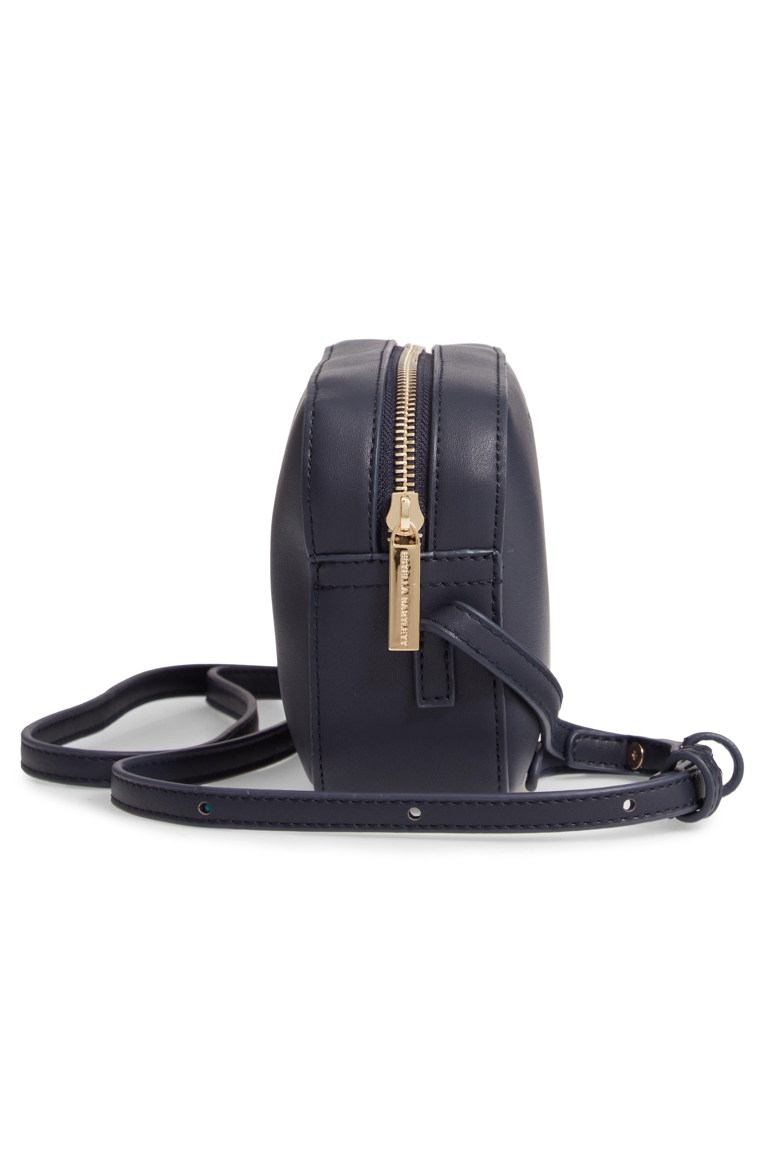 Faux Leather Box Bag,                             Alternate thumbnail 5, color,                             410