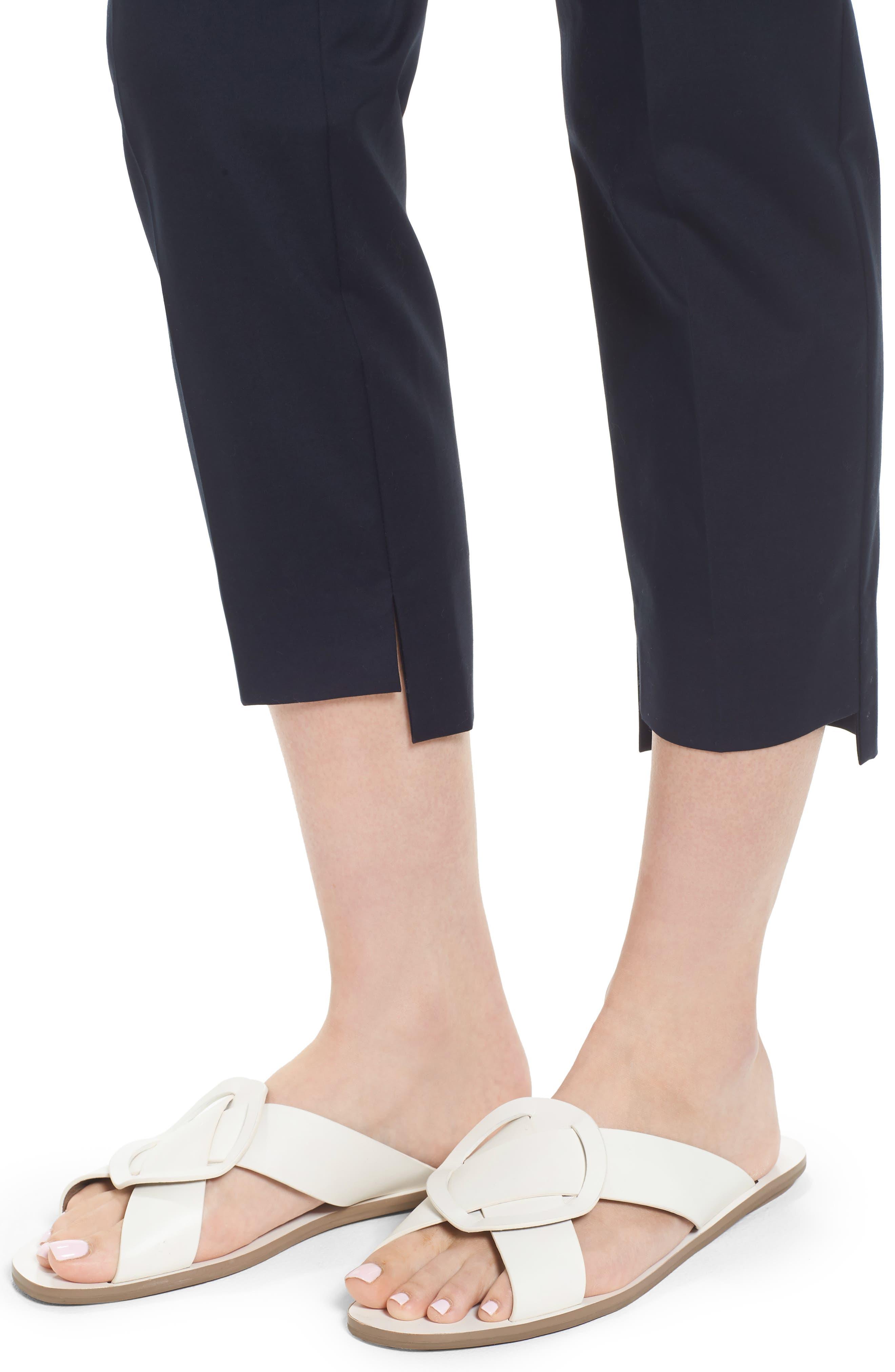 High/Low Crop Pants,                             Alternate thumbnail 9, color,