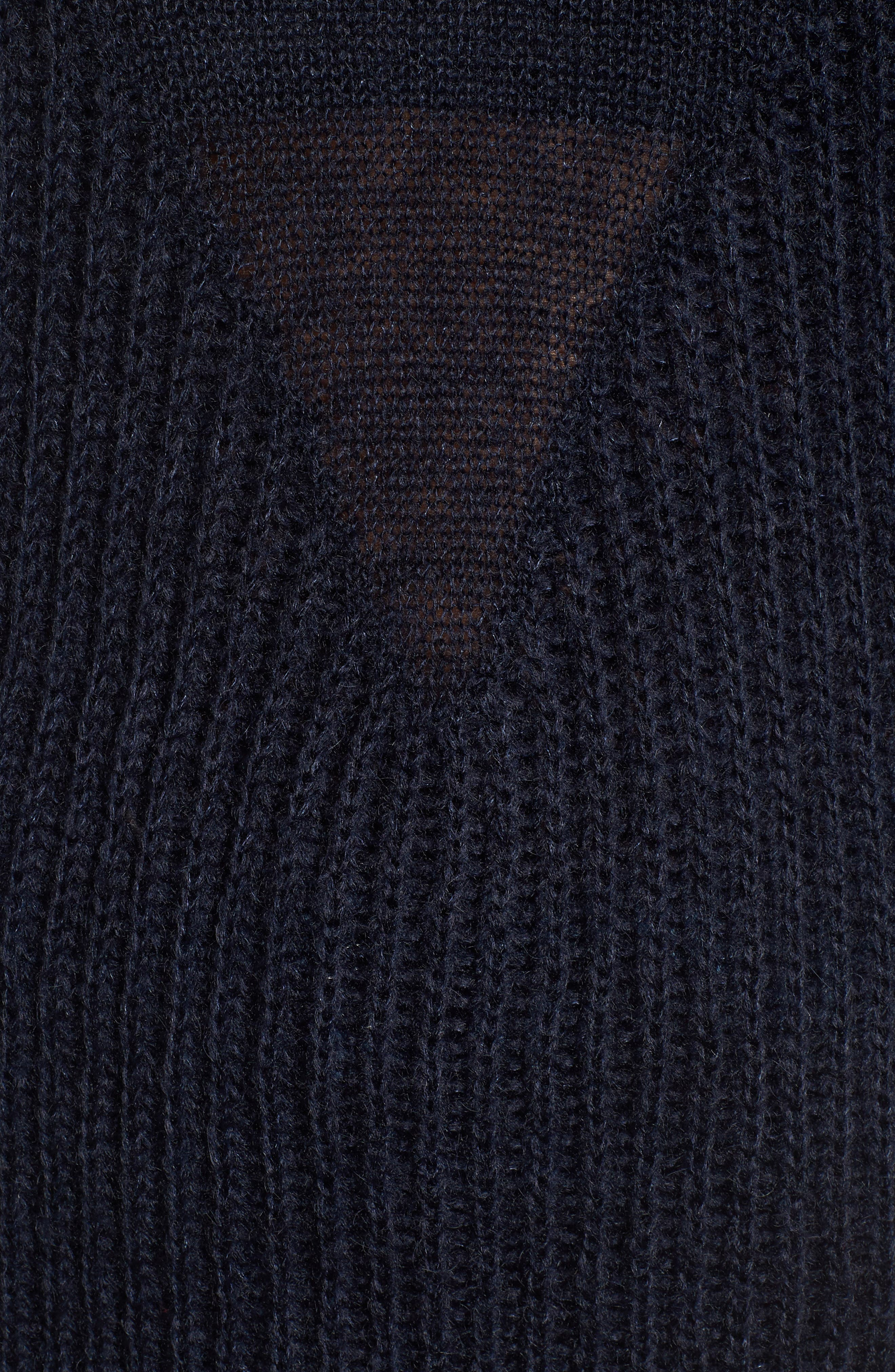 Fringed Sweater,                             Alternate thumbnail 5, color,                             400