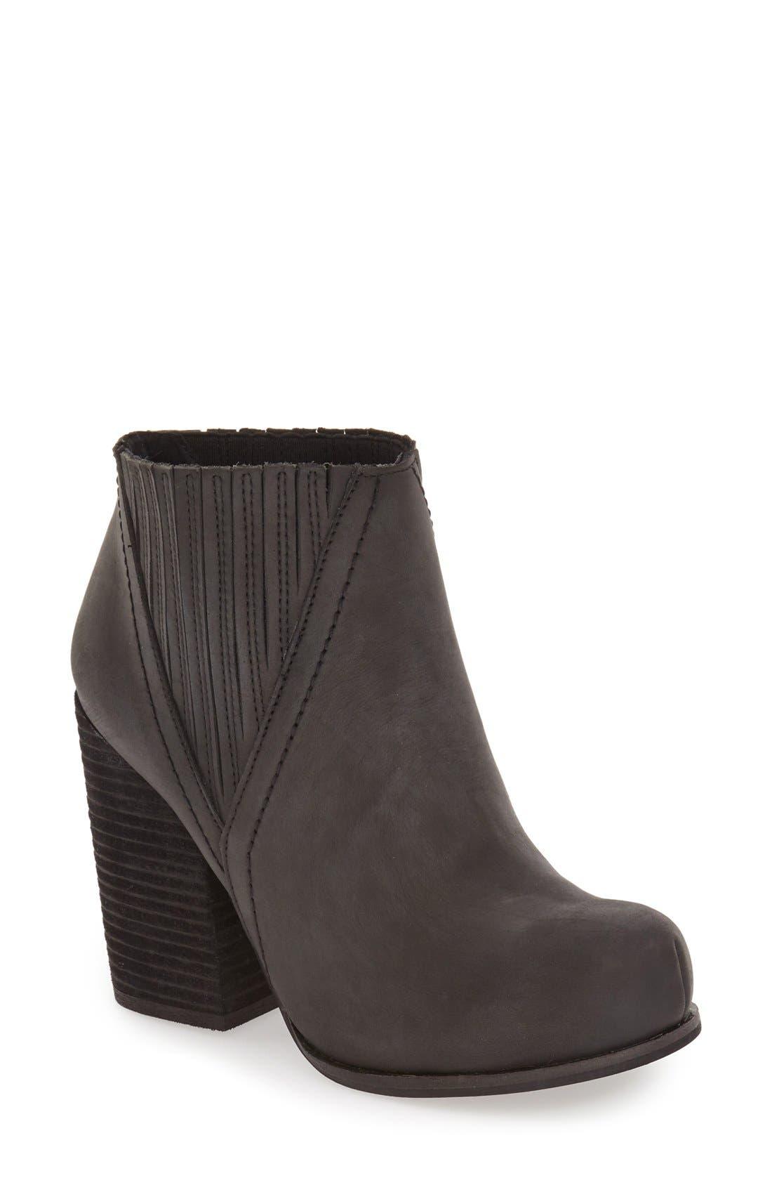 'Gershon' Block Heel Bootie,                         Main,                         color, 001