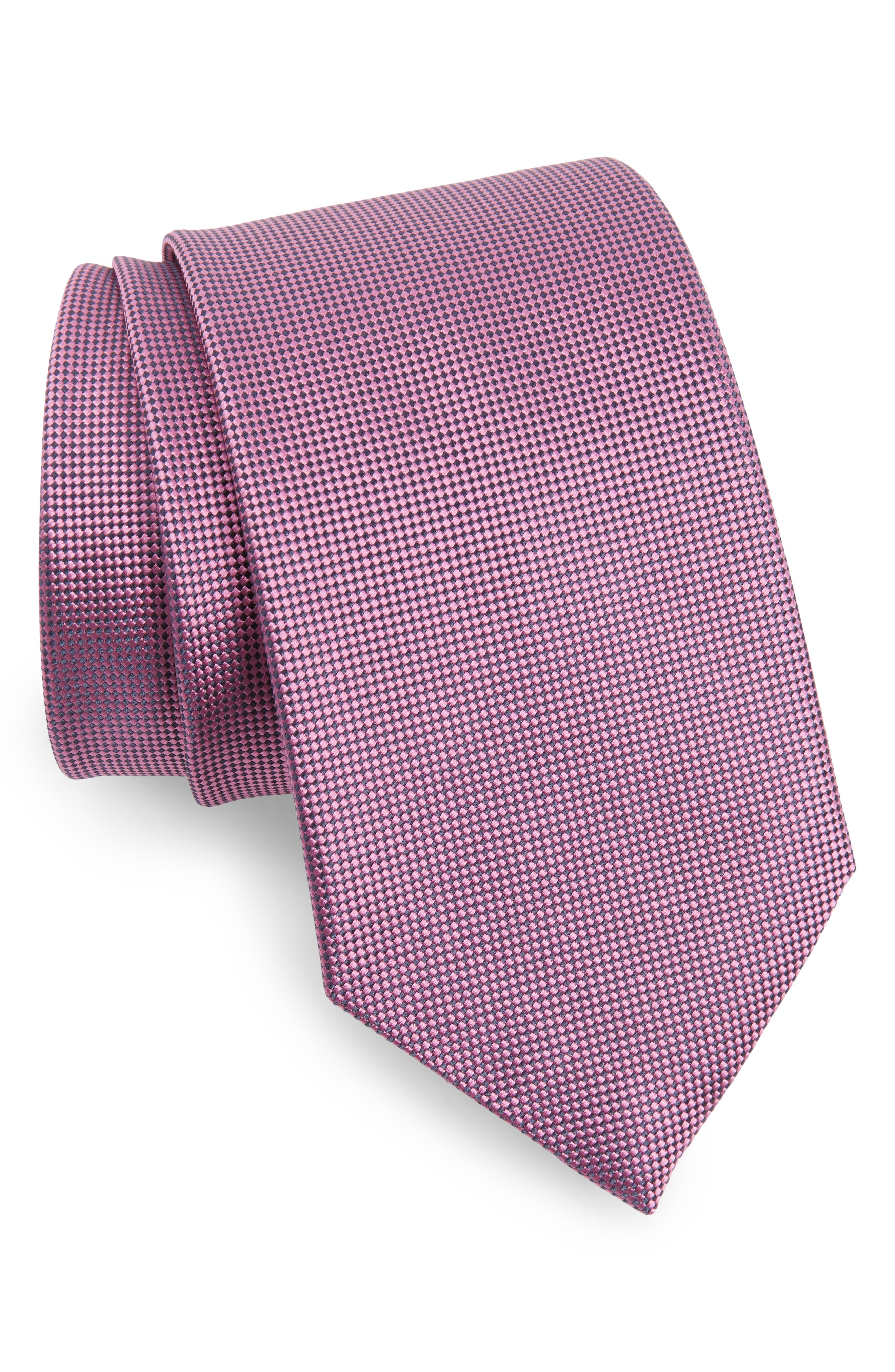 Solid Silk Tie,                             Main thumbnail 9, color,
