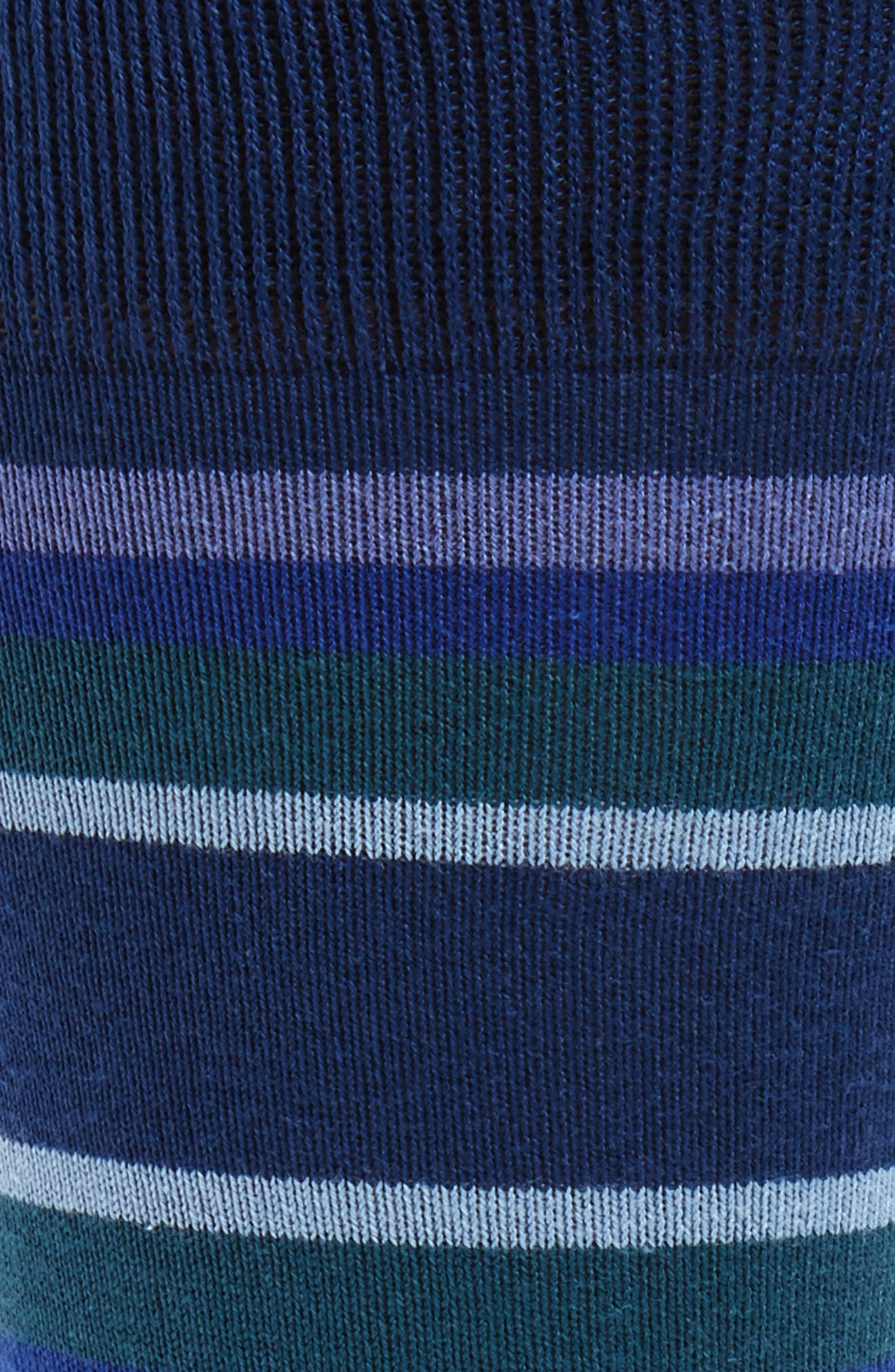 Lawn Stripe Socks,                             Alternate thumbnail 2, color,                             400
