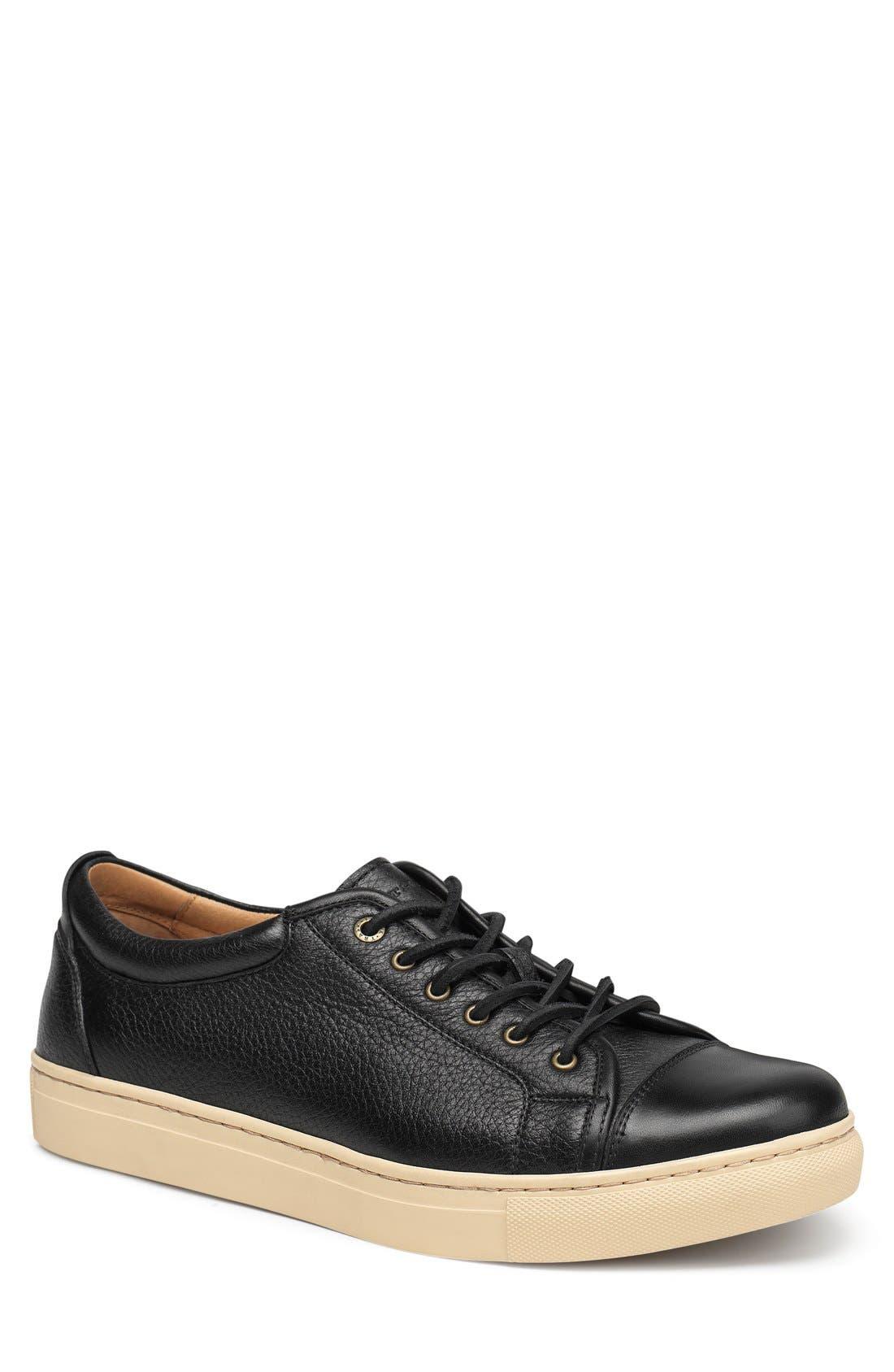 'Beck' Sneaker,                         Main,                         color, BLACK NORWEGIAN ELK