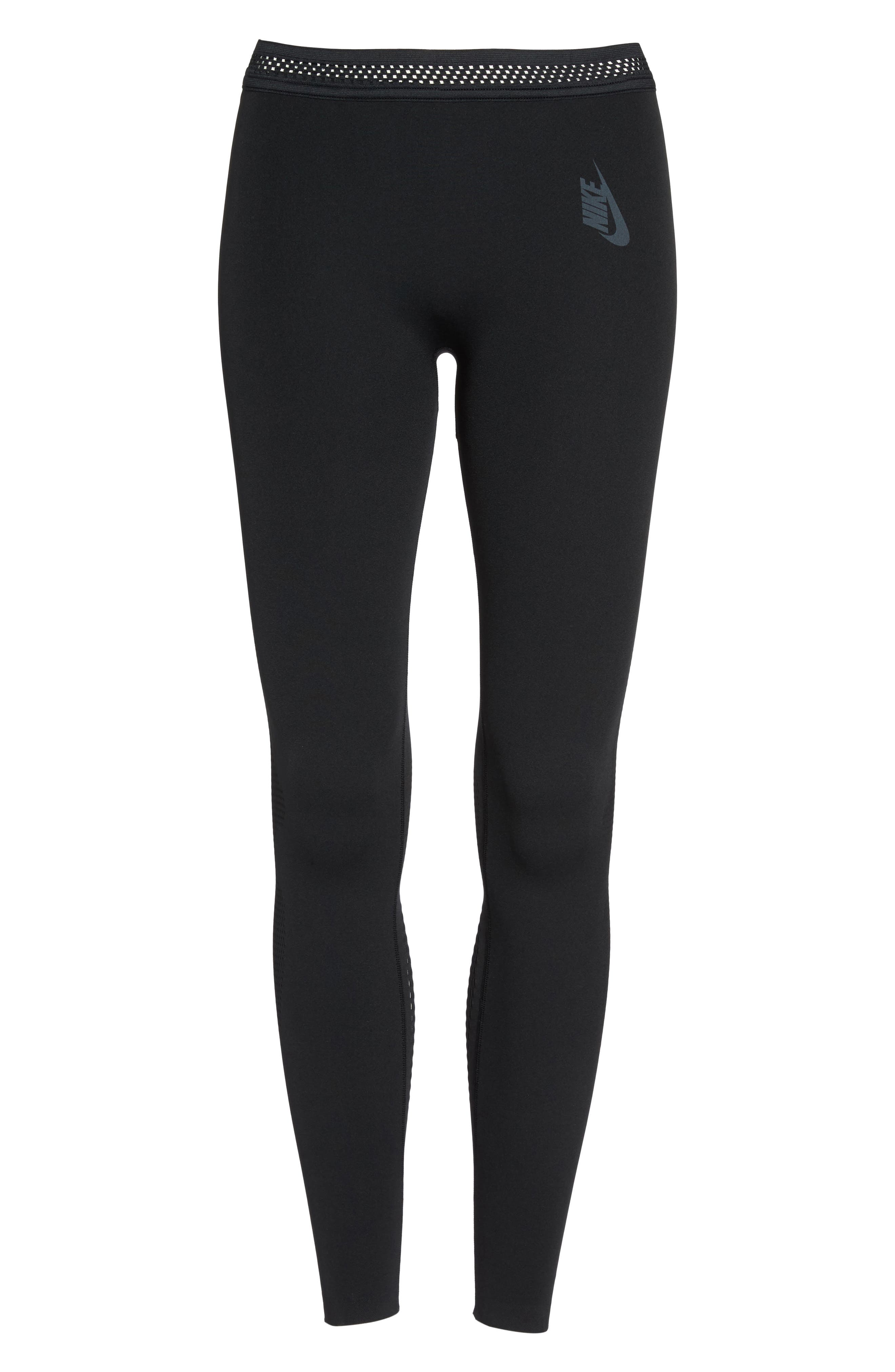 NikeLab Essential Training Tights,                             Alternate thumbnail 7, color,                             010