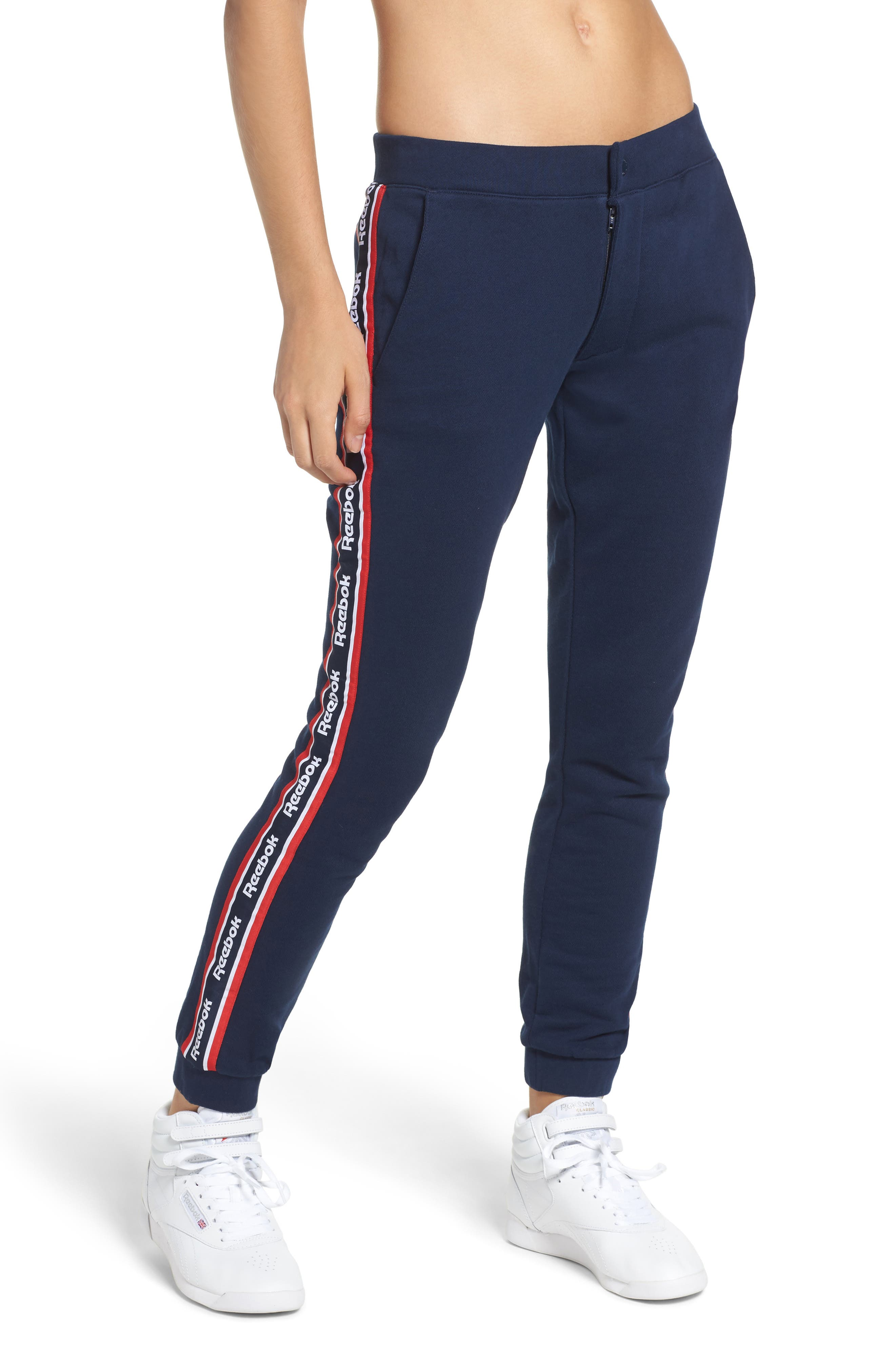 French Terry Pants,                             Main thumbnail 2, color,