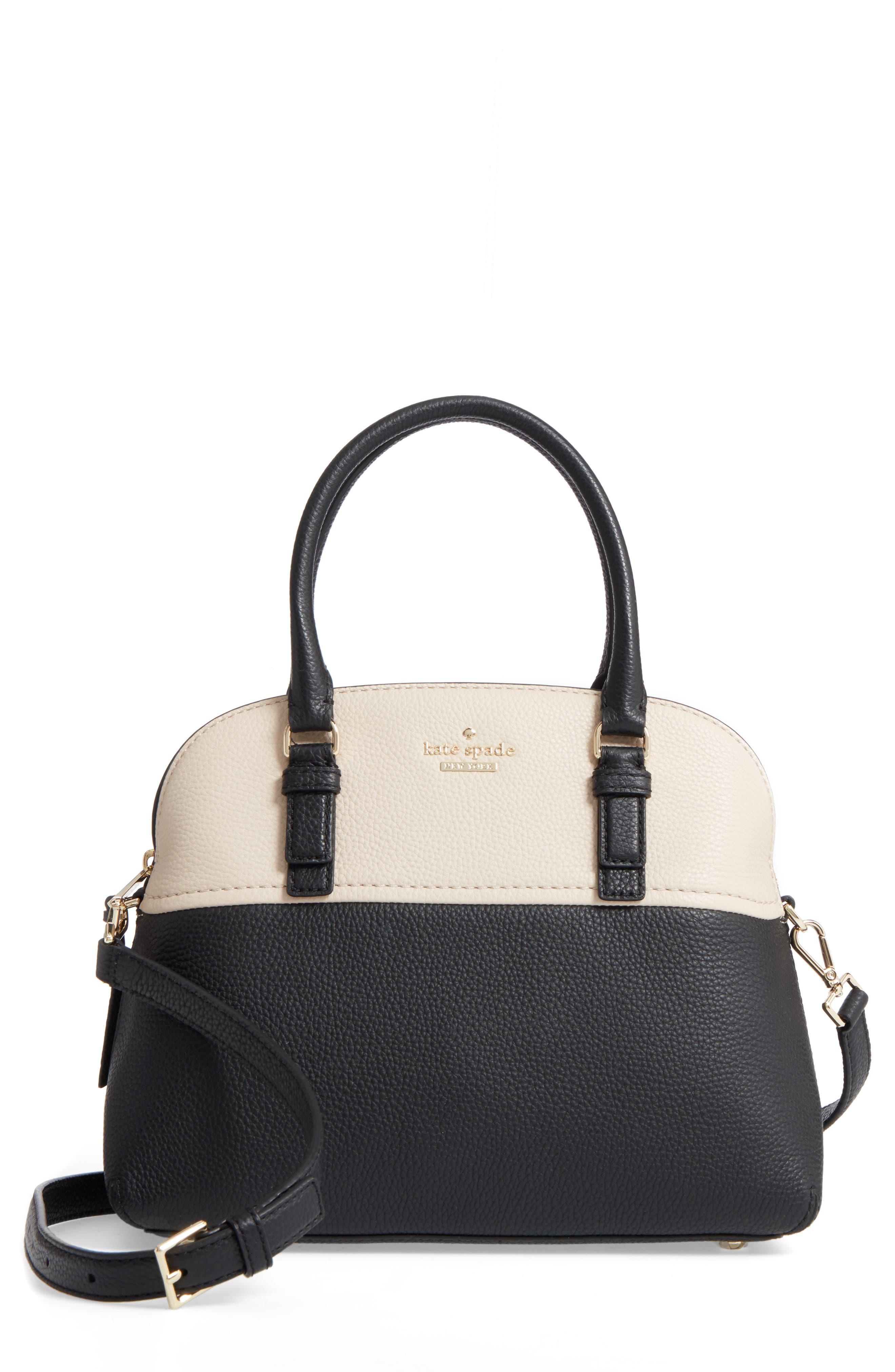 jackson street lottie leather satchel,                             Main thumbnail 2, color,