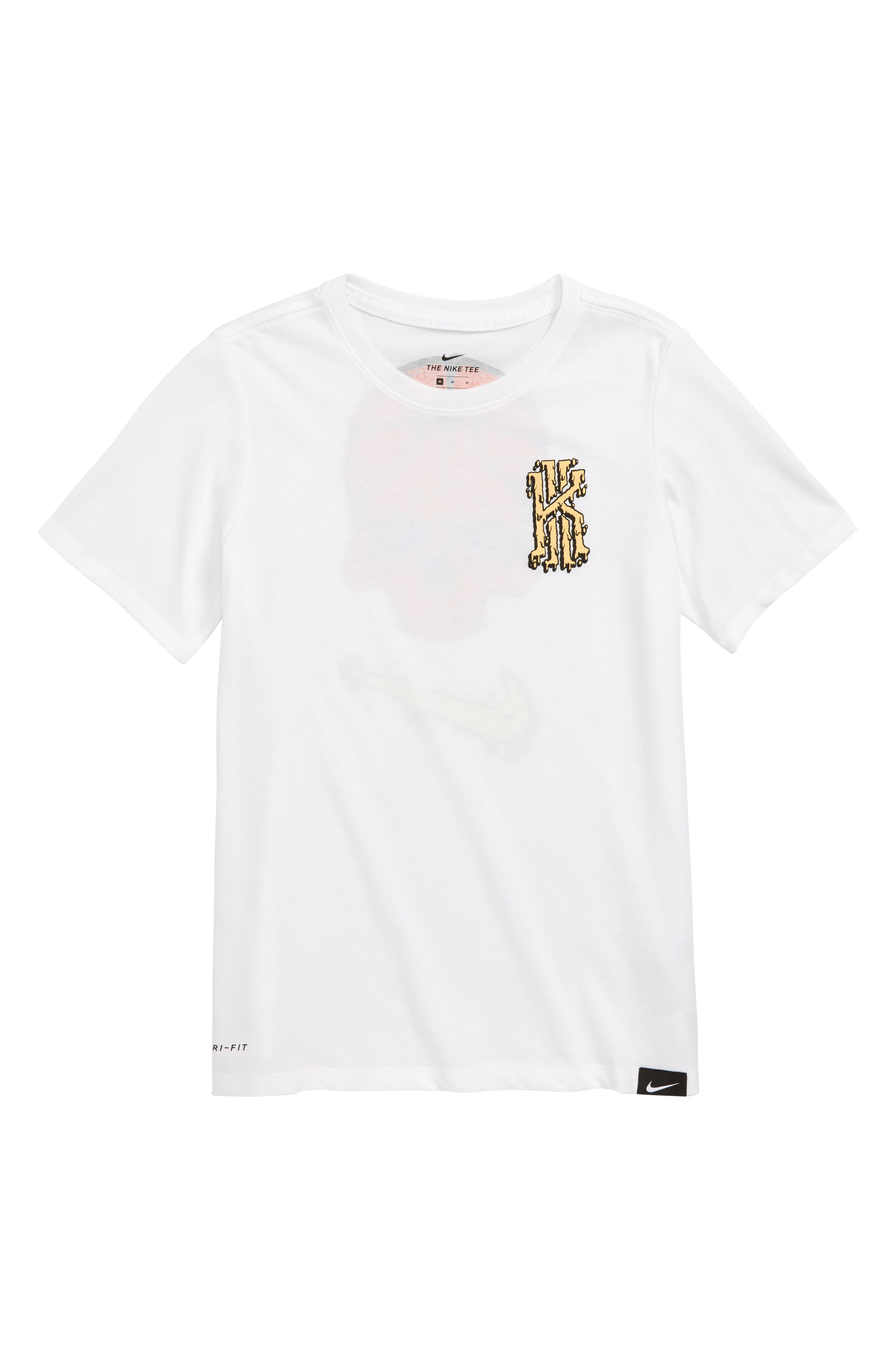 Dry Kyrie Graphic T-Shirt,                             Main thumbnail 1, color,                             100