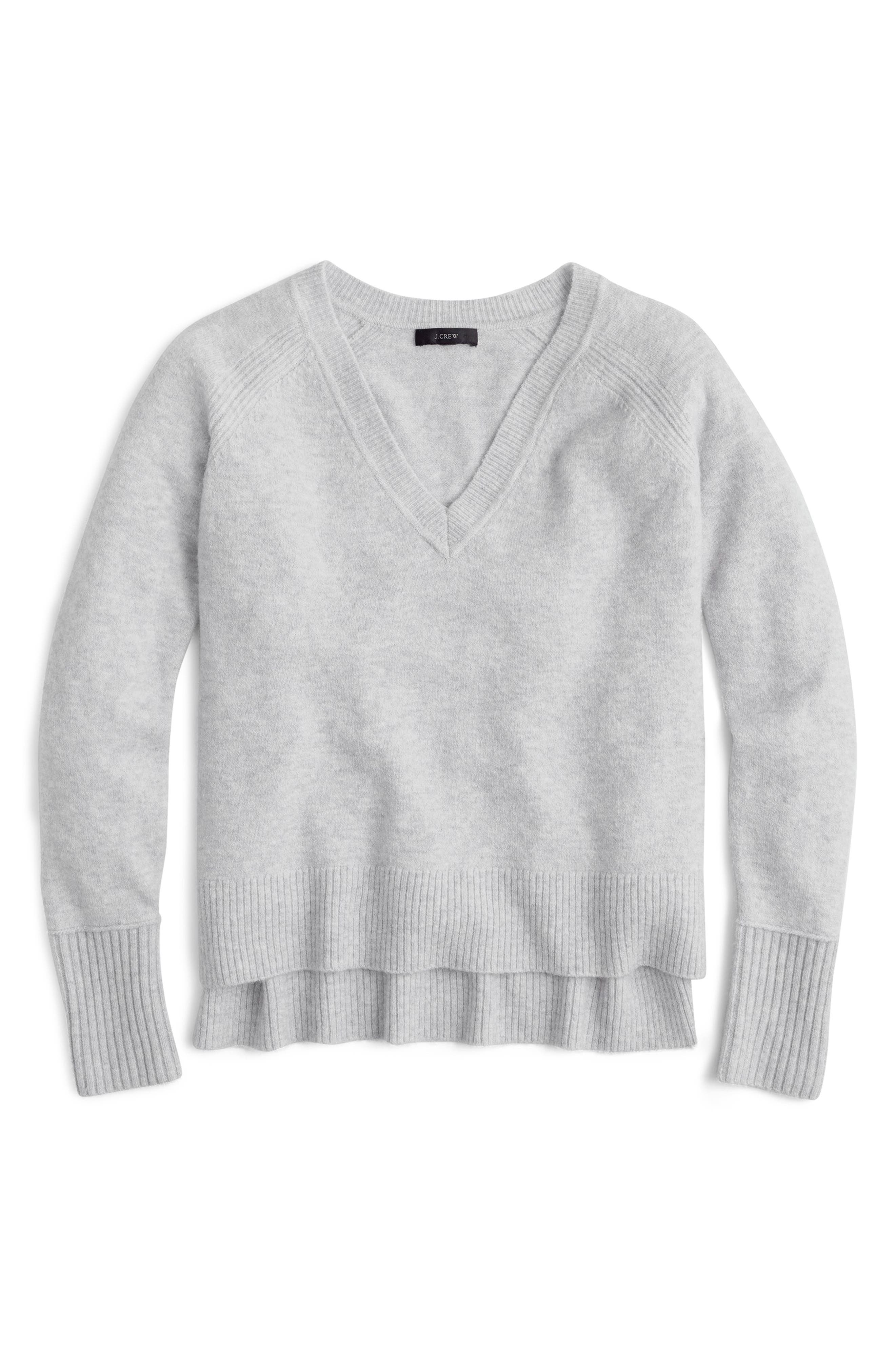 Supersoft Yarn V-Neck Sweater,                             Main thumbnail 3, color,