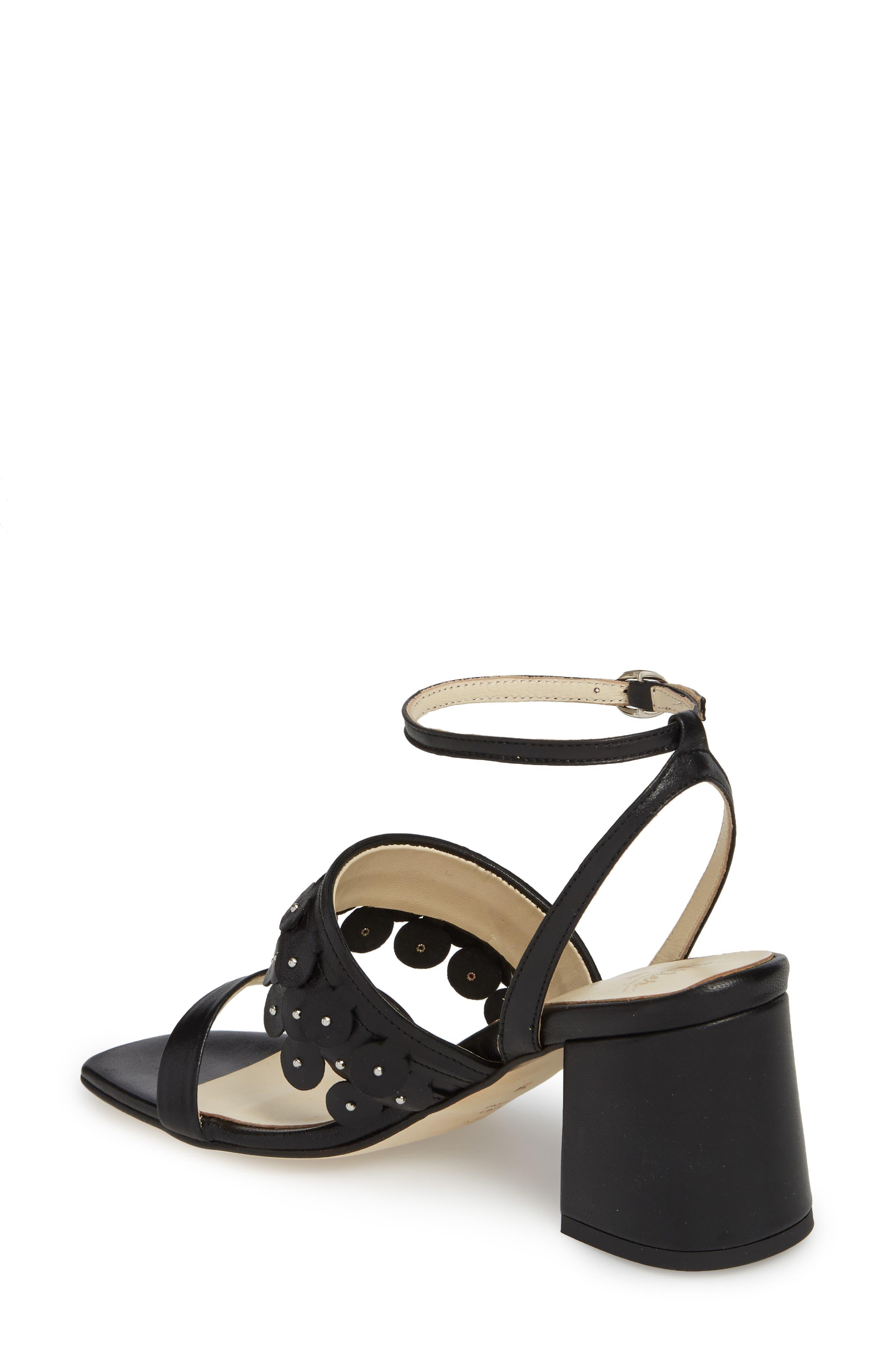 Butter Finley Studded Ankle Strap Sandal,                             Alternate thumbnail 2, color,                             001