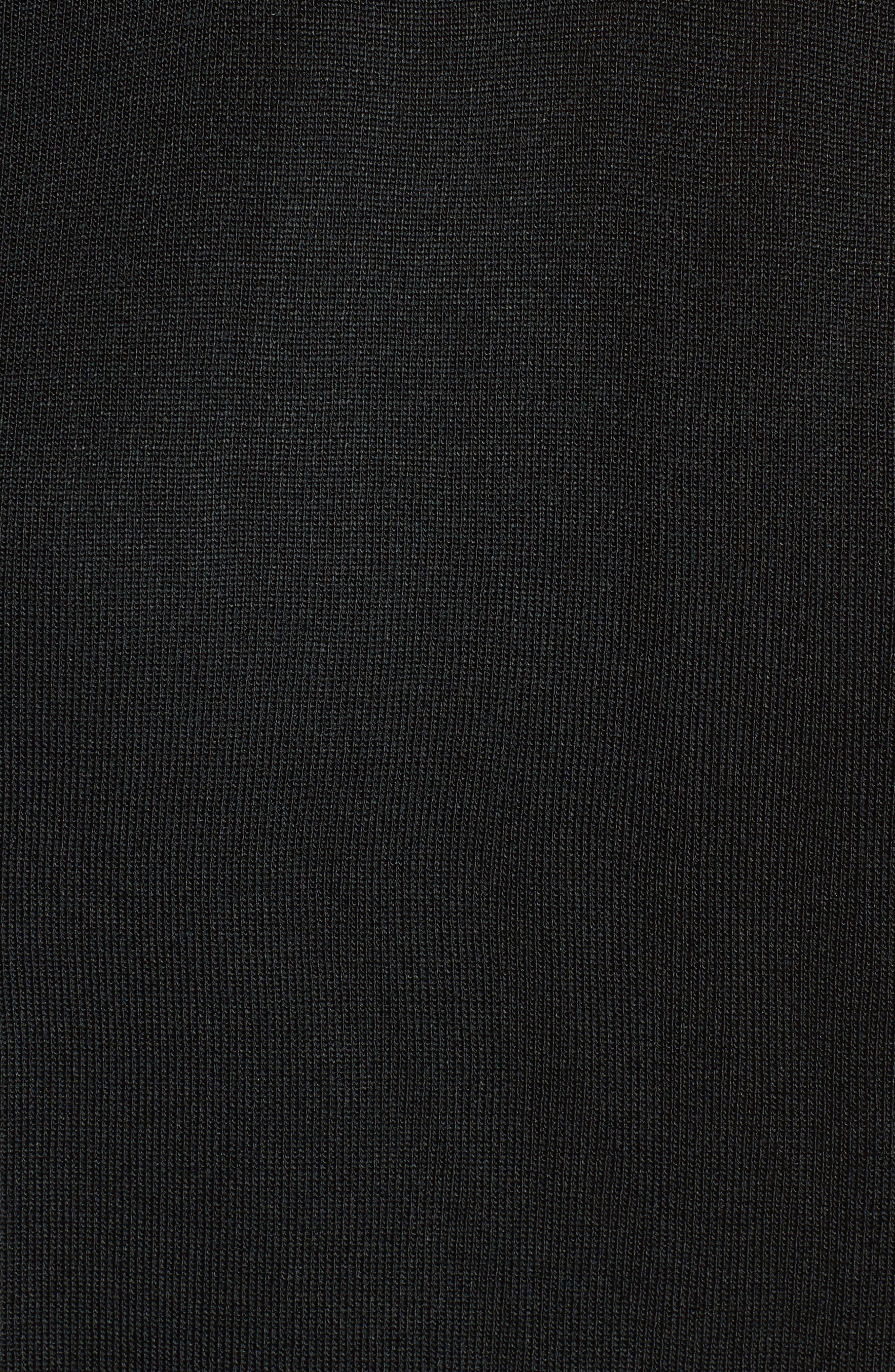 Sweetheart Neck Tank,                             Alternate thumbnail 5, color,                             BLACK