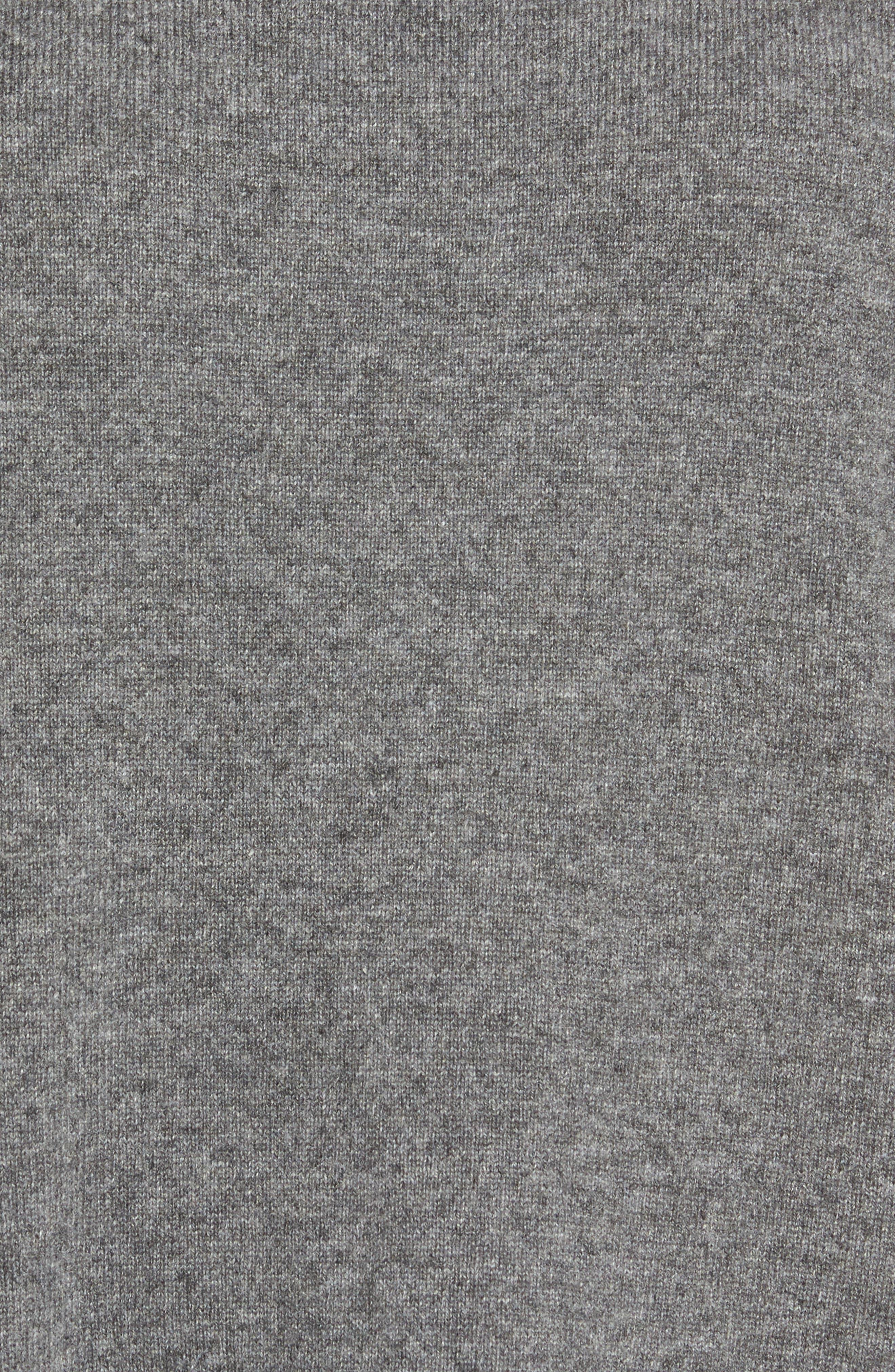 Cashmere Tunic Sweater,                             Alternate thumbnail 5, color,                             030