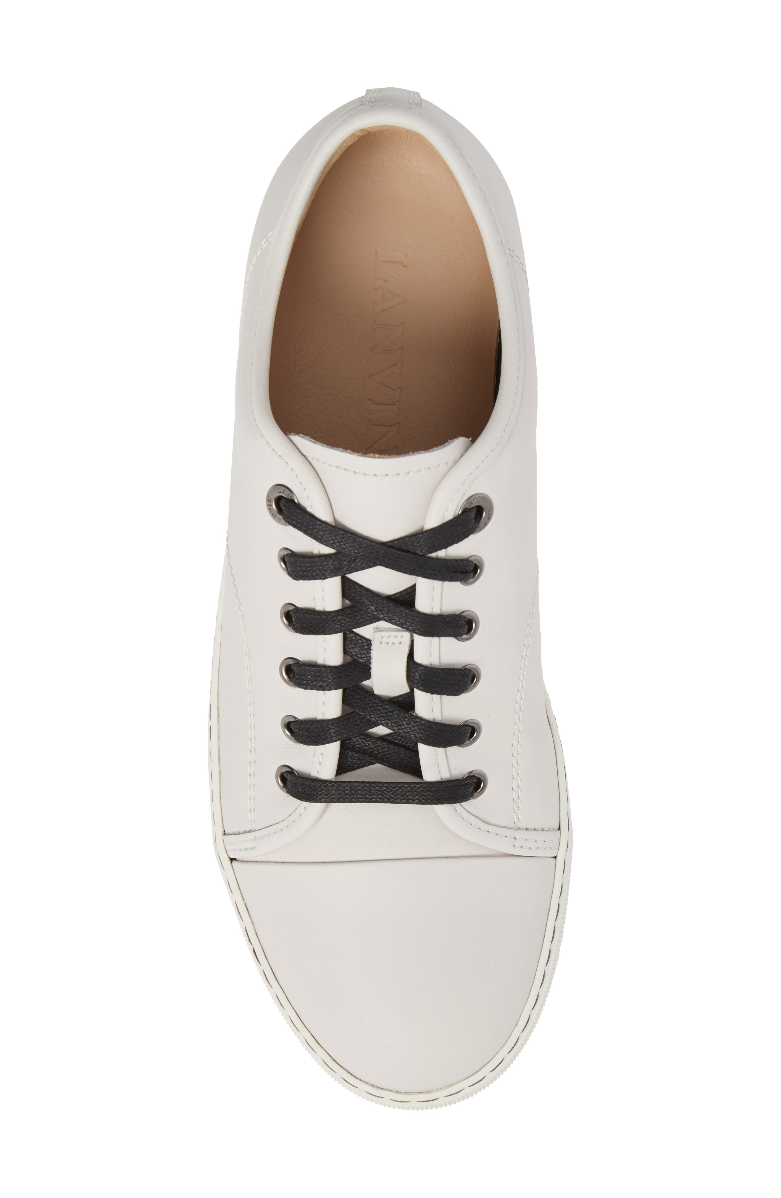 LANVIN,                             Low Top Sneaker,                             Alternate thumbnail 5, color,                             102