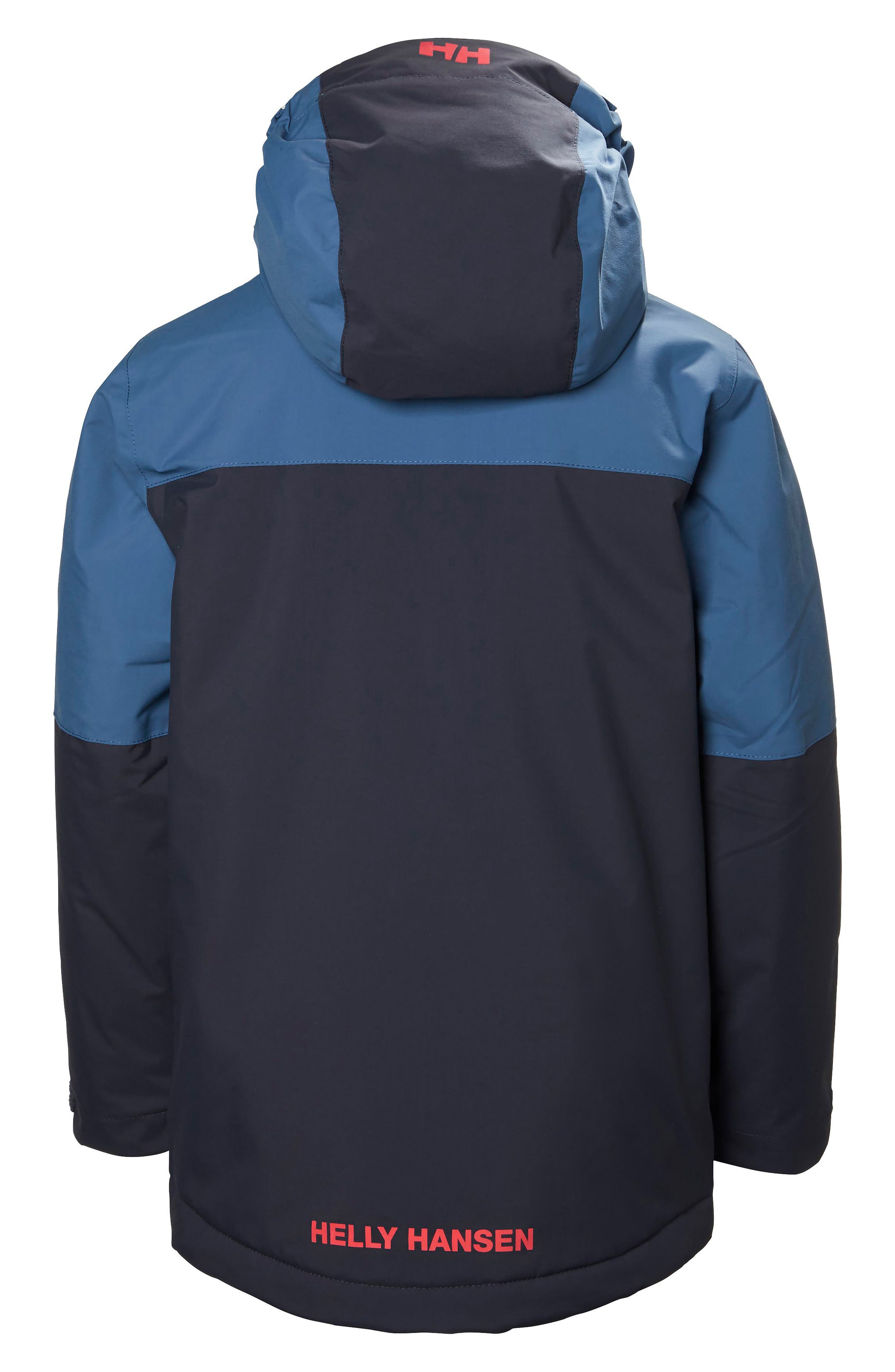 'Progress' Waterproof Hooded Jacket,                             Alternate thumbnail 6, color,