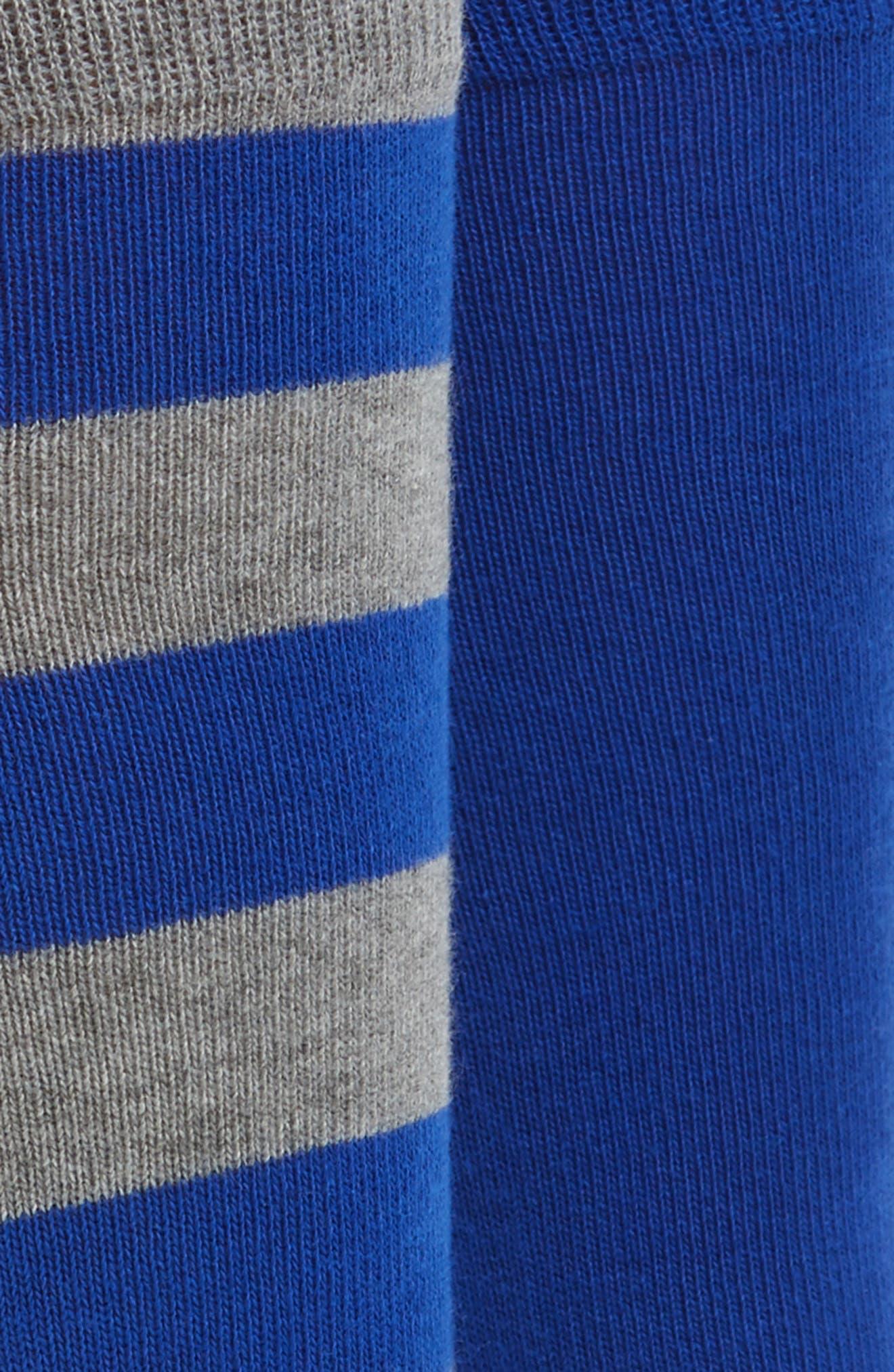 Cotton Blend Socks,                             Alternate thumbnail 38, color,