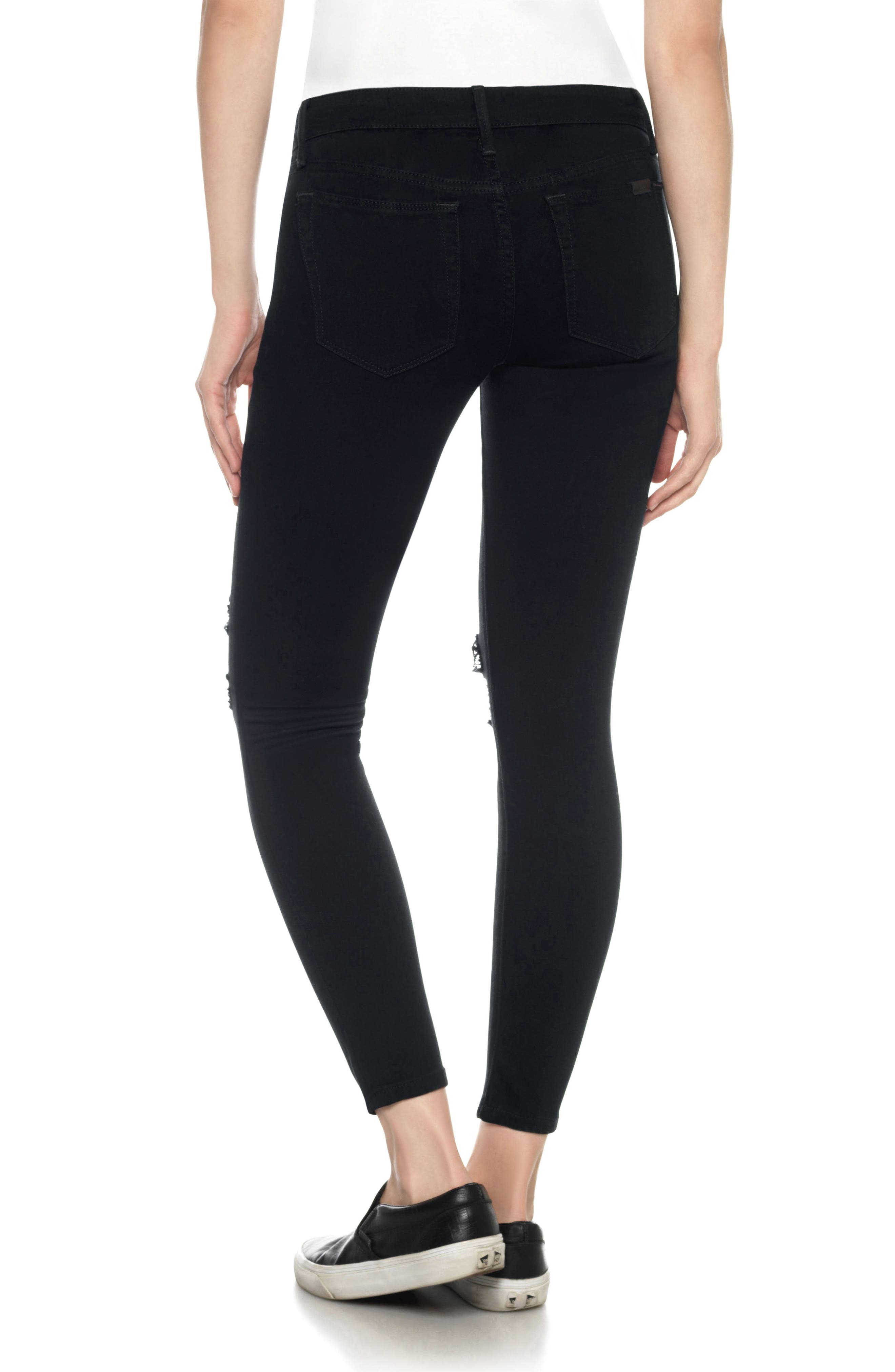 Flawless - Icon Ankle Skinny Jeans,                             Alternate thumbnail 2, color,