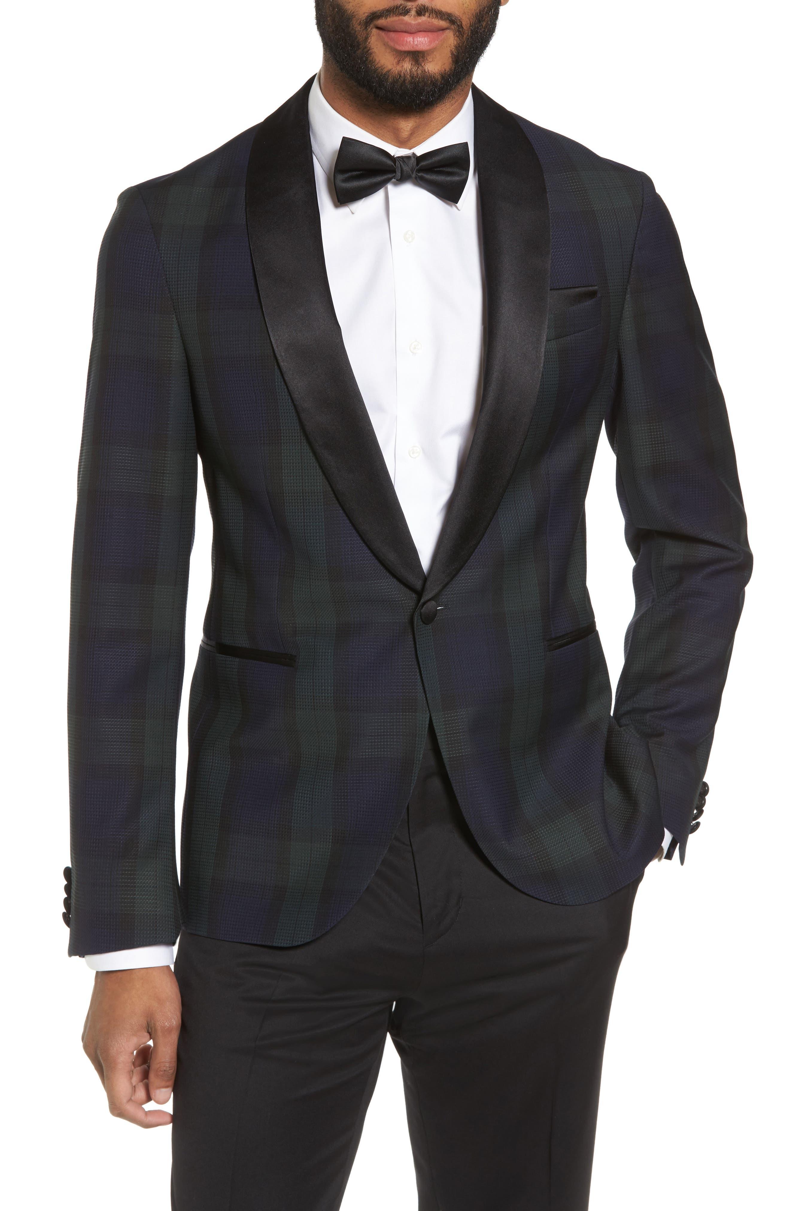 Nemir Classic Fit Wool Dinner Jacket,                         Main,                         color,