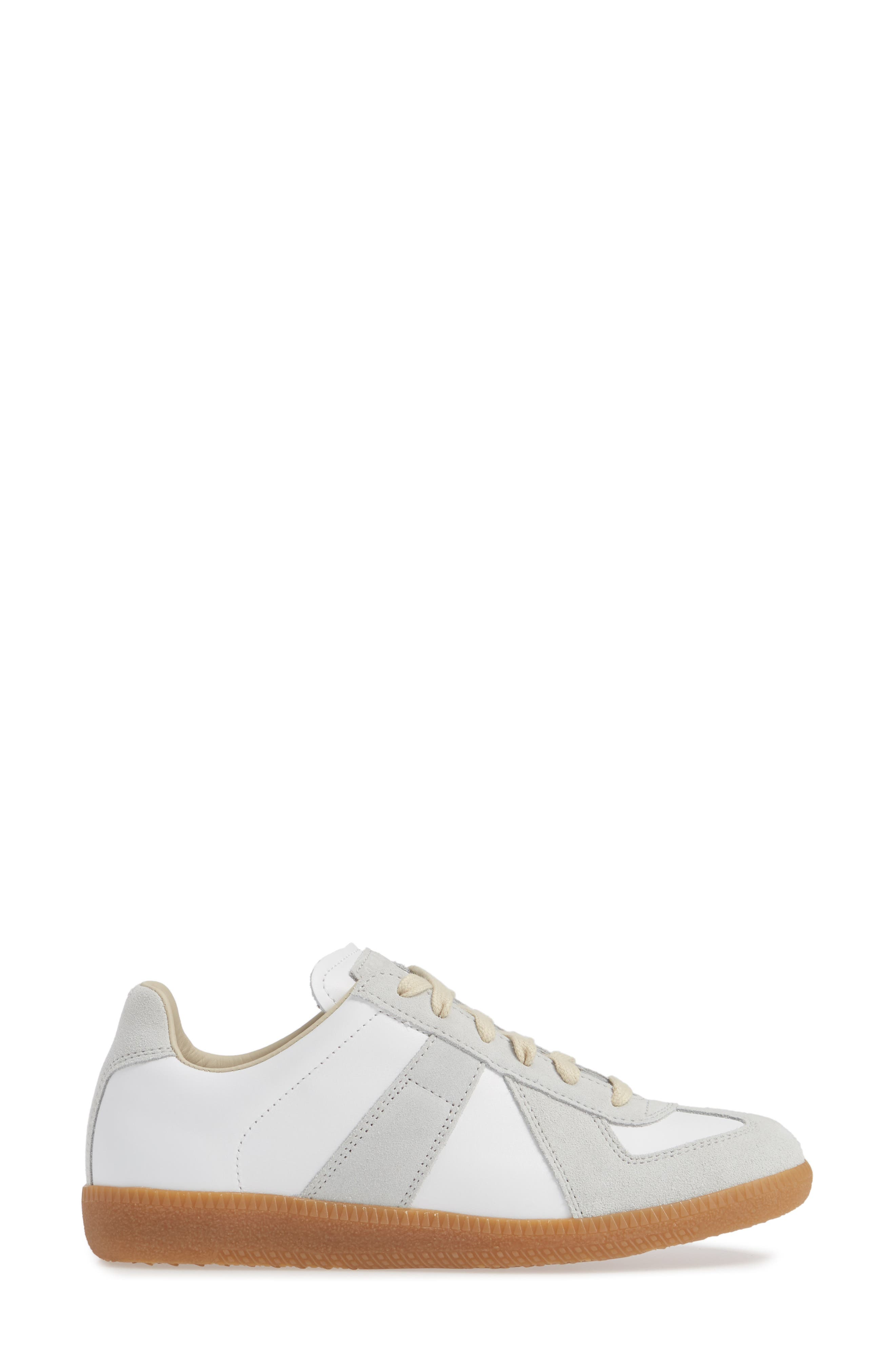 Replica Sneaker,                             Alternate thumbnail 3, color,                             WHITE