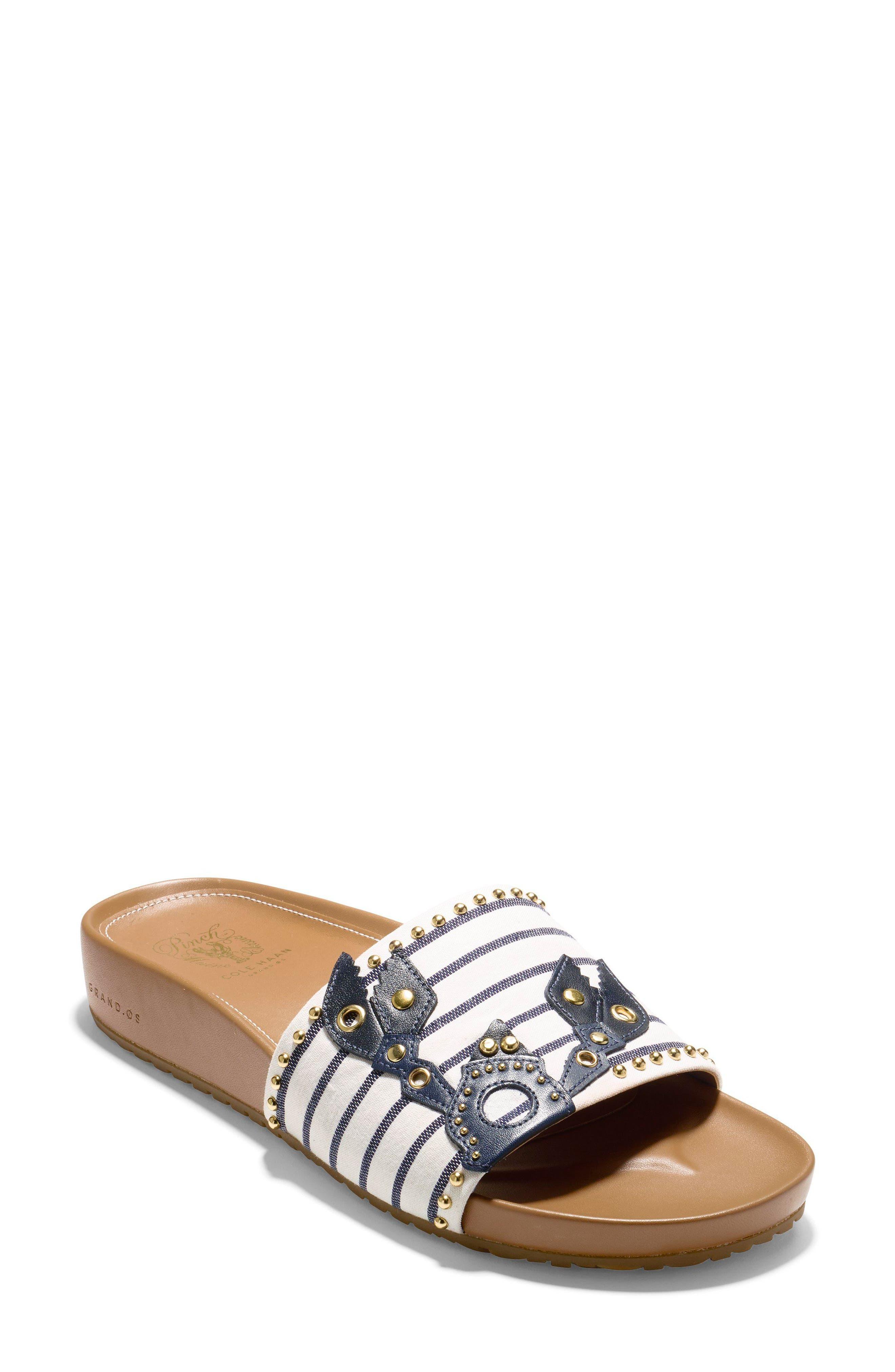 Pinch Montauk Lobster Slide Sandal,                             Main thumbnail 1, color,