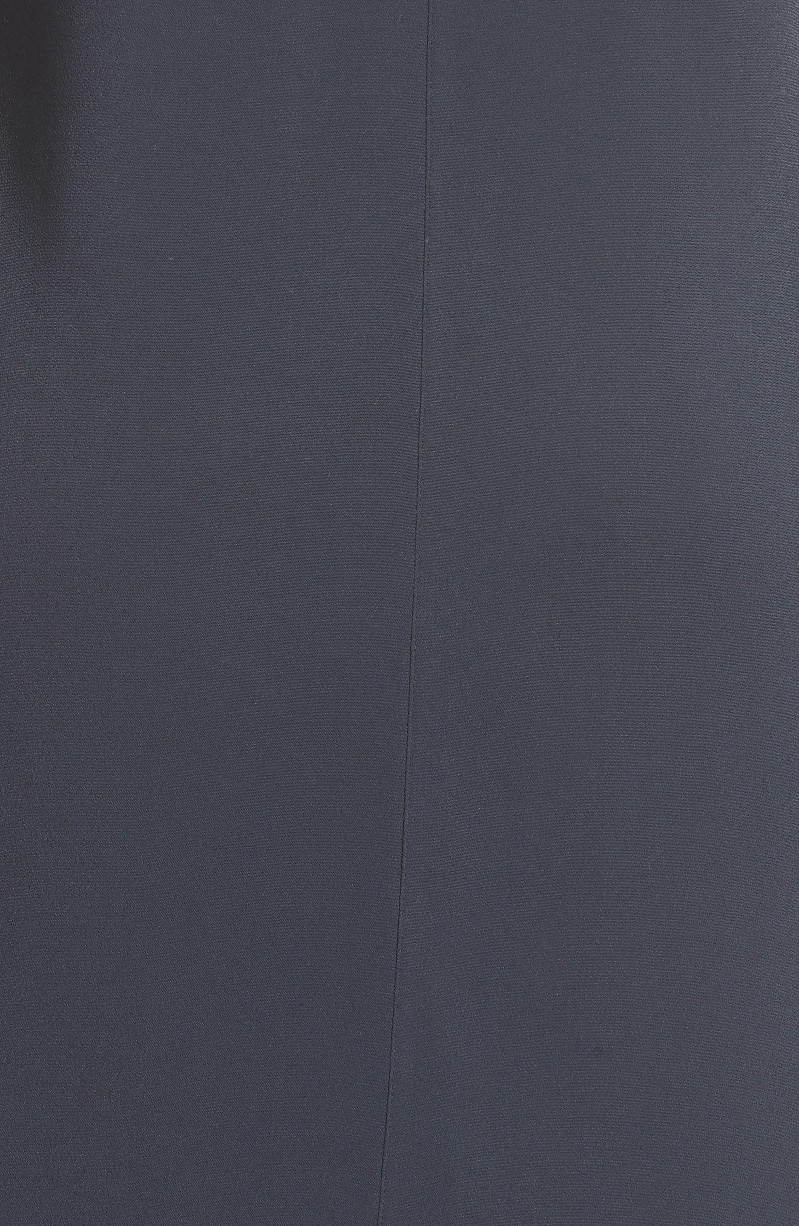 V-Neck Tunic Dress,                             Alternate thumbnail 5, color,                             403