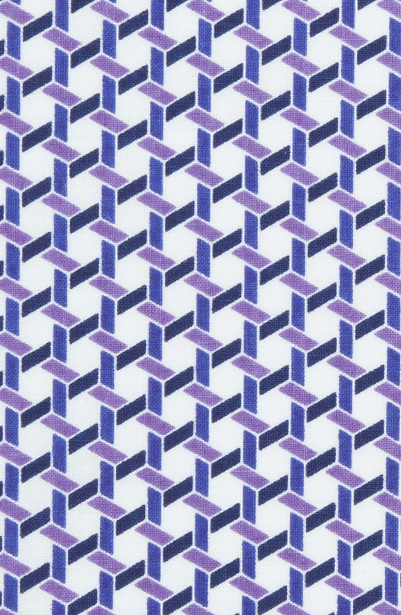 Gallo Geometric Pocket Square,                             Alternate thumbnail 3, color,                             500