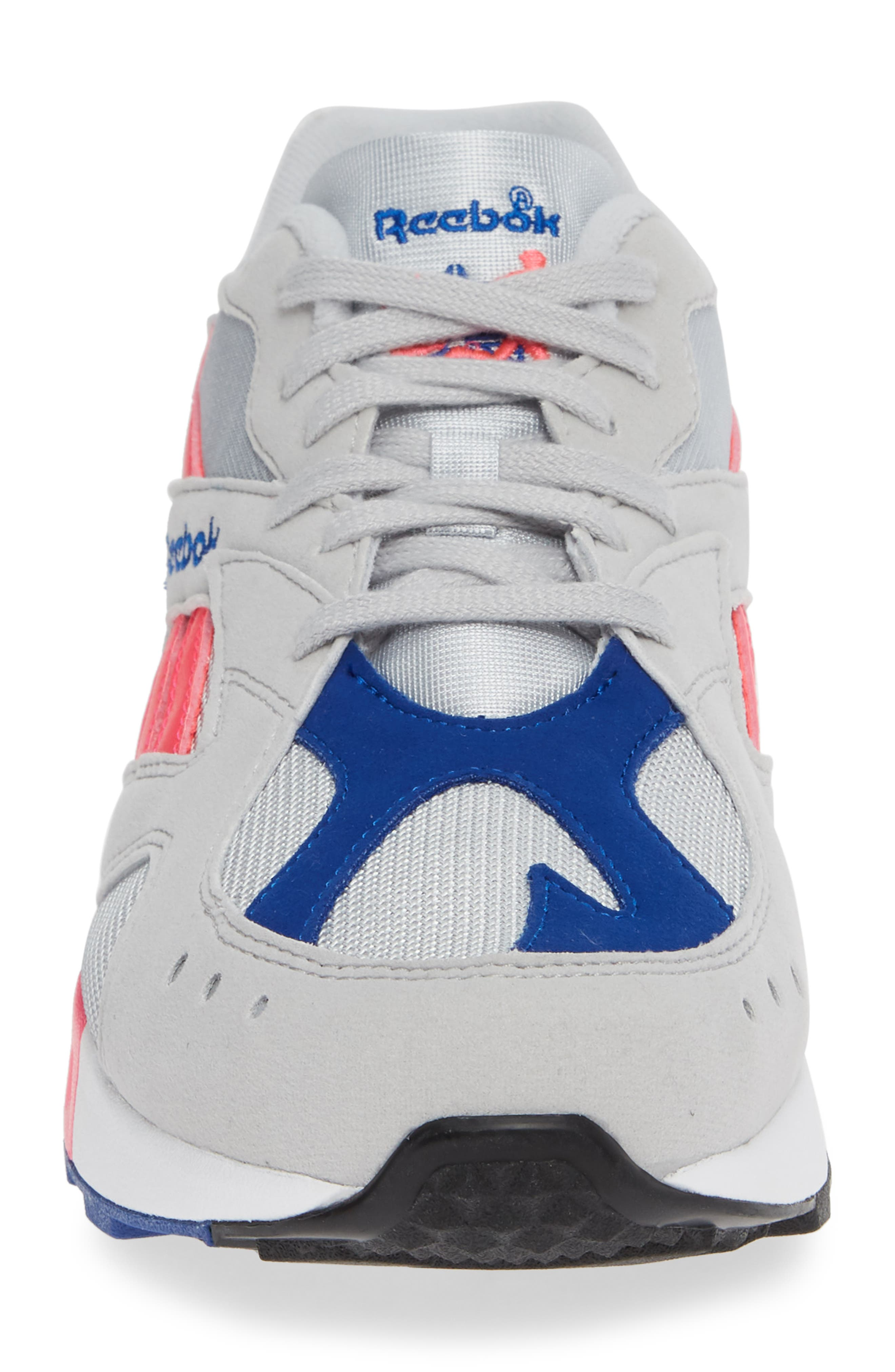 Aztrek Sneaker,                             Alternate thumbnail 4, color,                             GREY/ PINK/ COLLEGIATE ROYAL