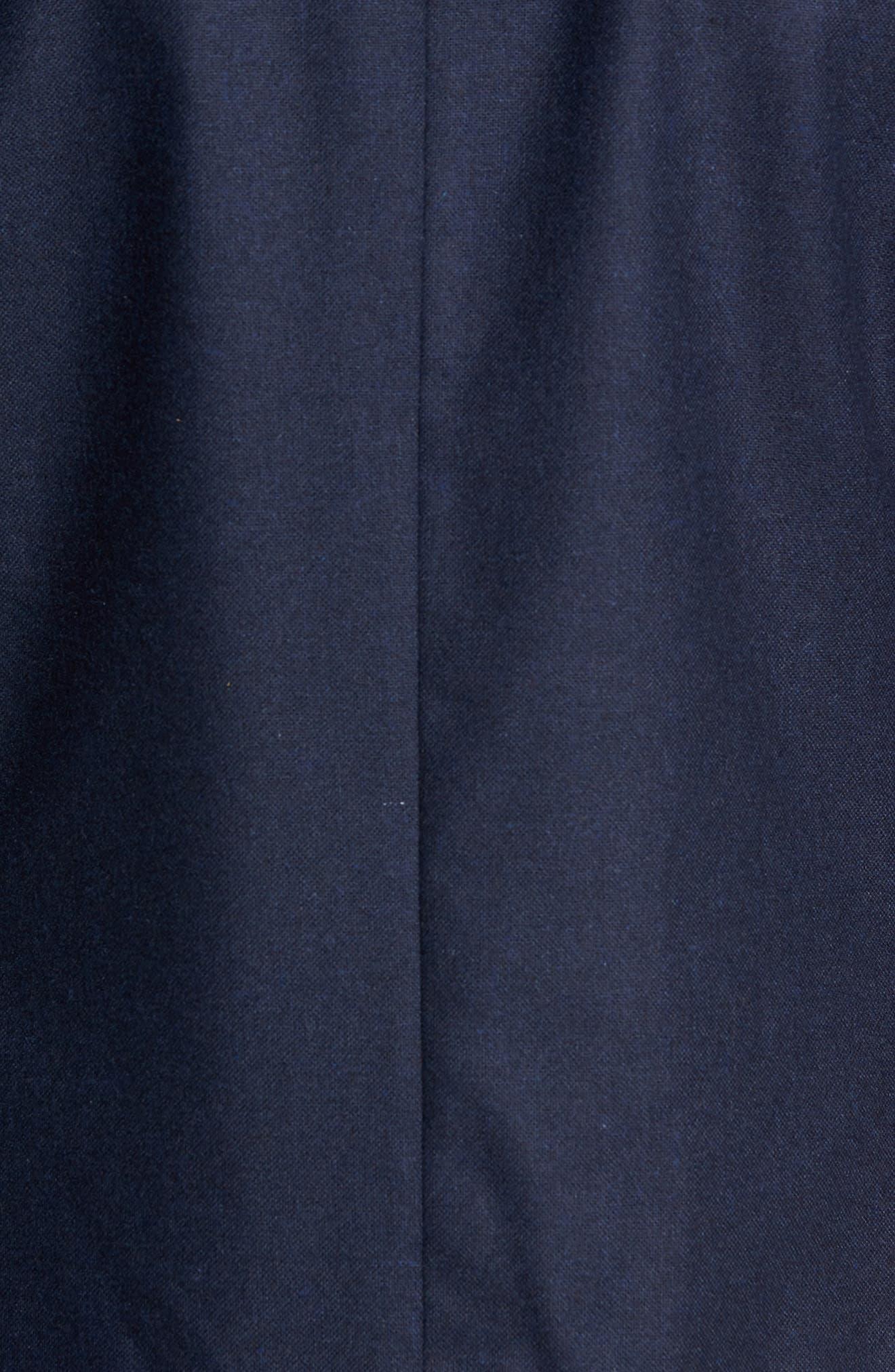 Myloiver Slim Fit Wool Blend Blazer,                             Alternate thumbnail 6, color,                             DARK NAVY